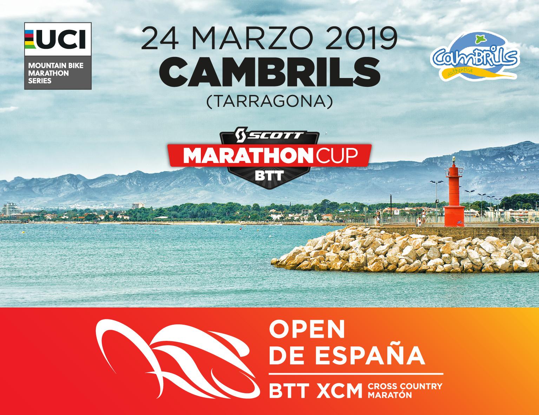 Cambrils Scott Marathon Cup entra a formar parte del Open de Espa�a 2019