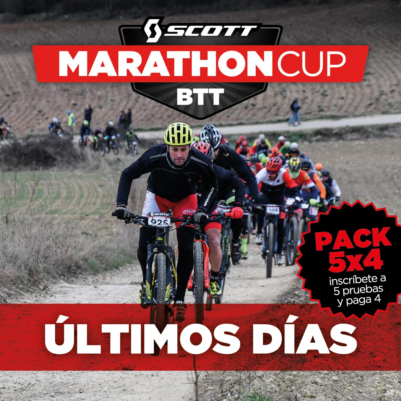 Pack especial 5x4 de la Scott Marathon Cup 2019