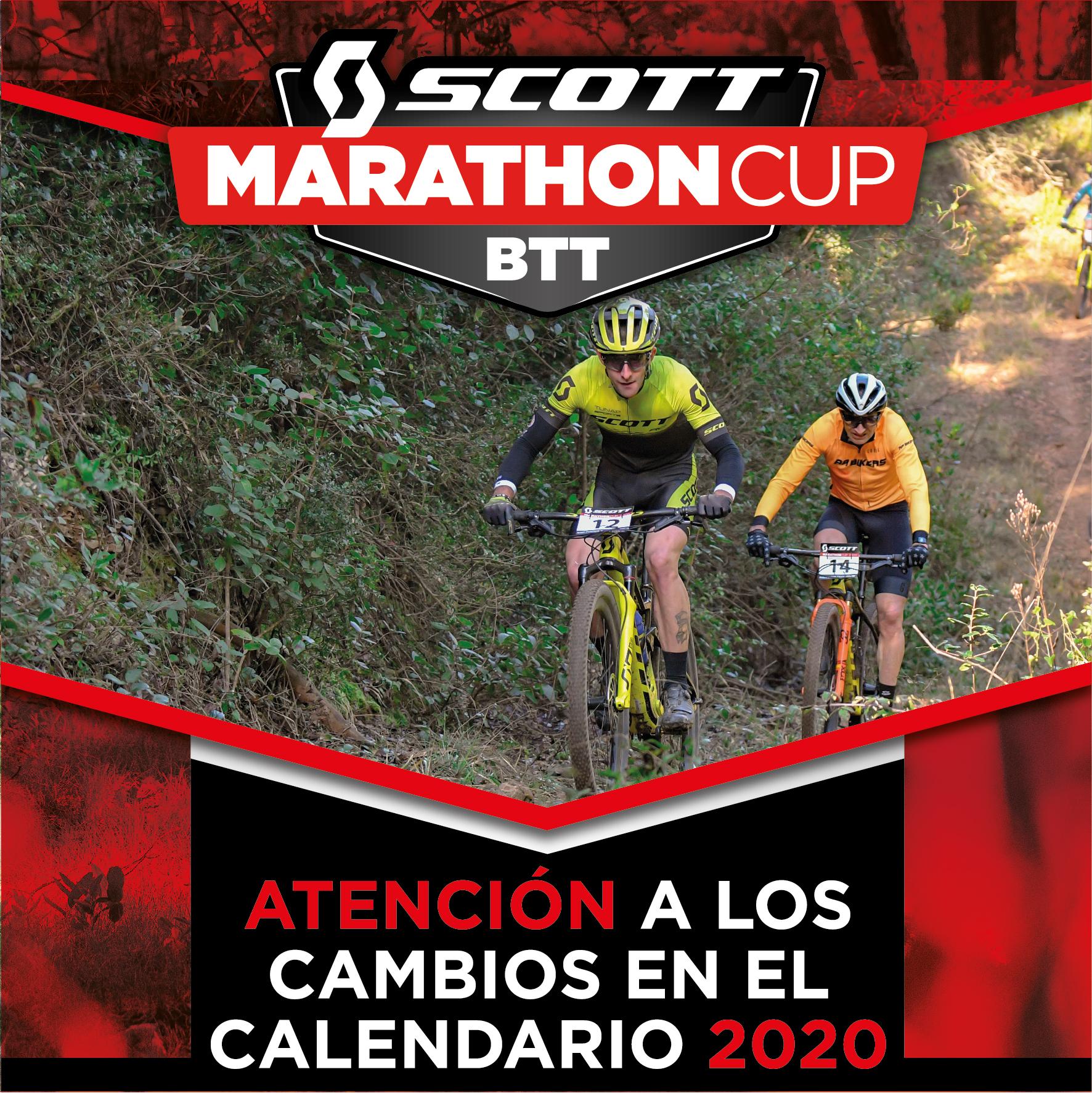 LA SCOTT MARATHON CUP SUFRIR� CAMBIOS EN EL CALENDARIO 2020 POR EL CORONAVIRUS