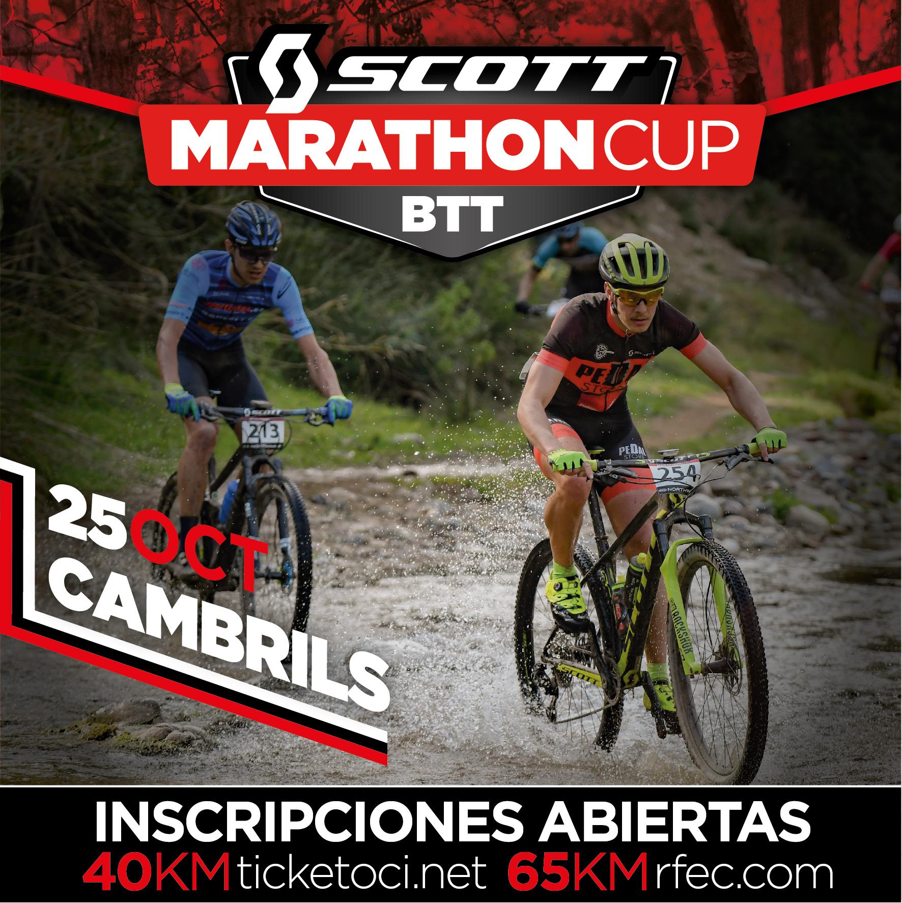 La Scott Marathon Cup de Cambrils se aplaza al 25 de octubre
