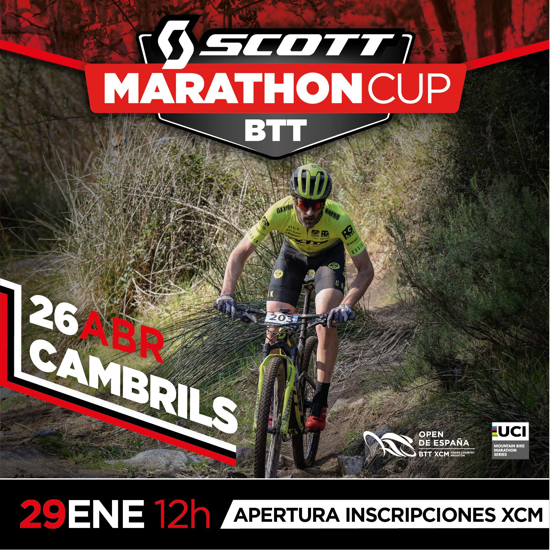 La Scott Marathon Cup de Cambrils volver� a ser una de las pruebas estrella del a�o