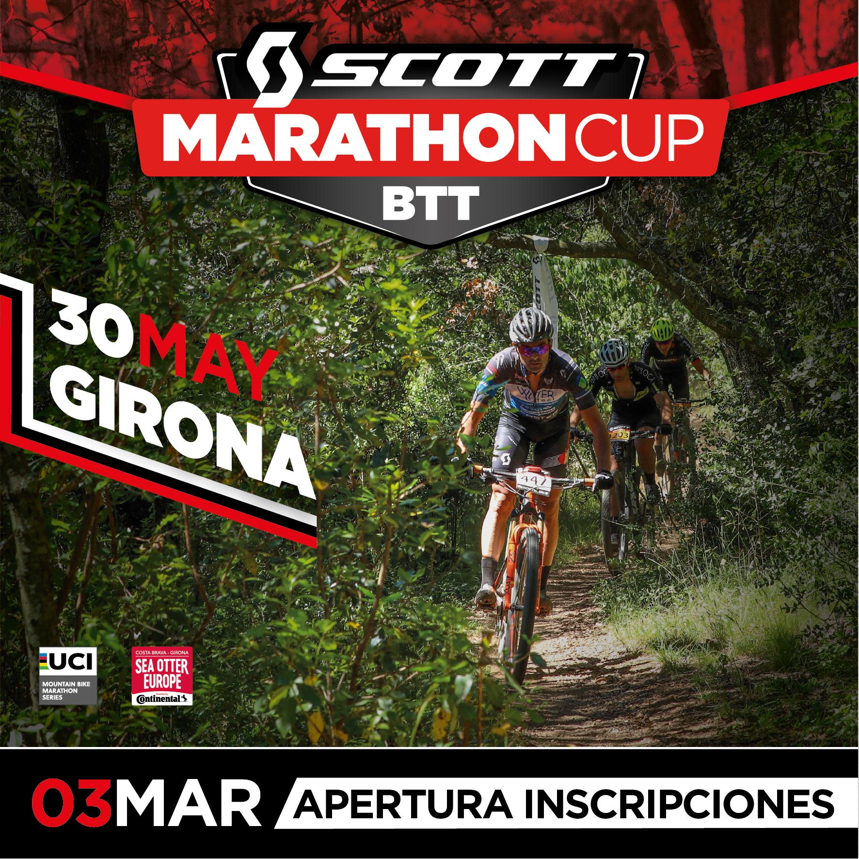 La Scott Marathon Cup de Girona abre inscripciones el 3 de marzo
