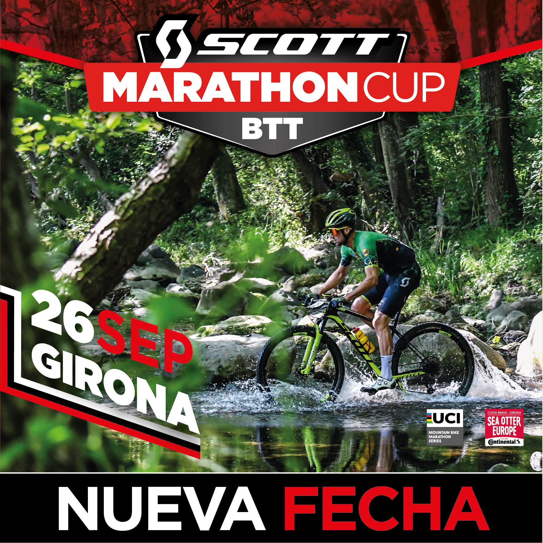The Sea Otter Europe Costa Brava-Girona Bike Show 2020 has been postponed and will now take place from 25 to 27 September