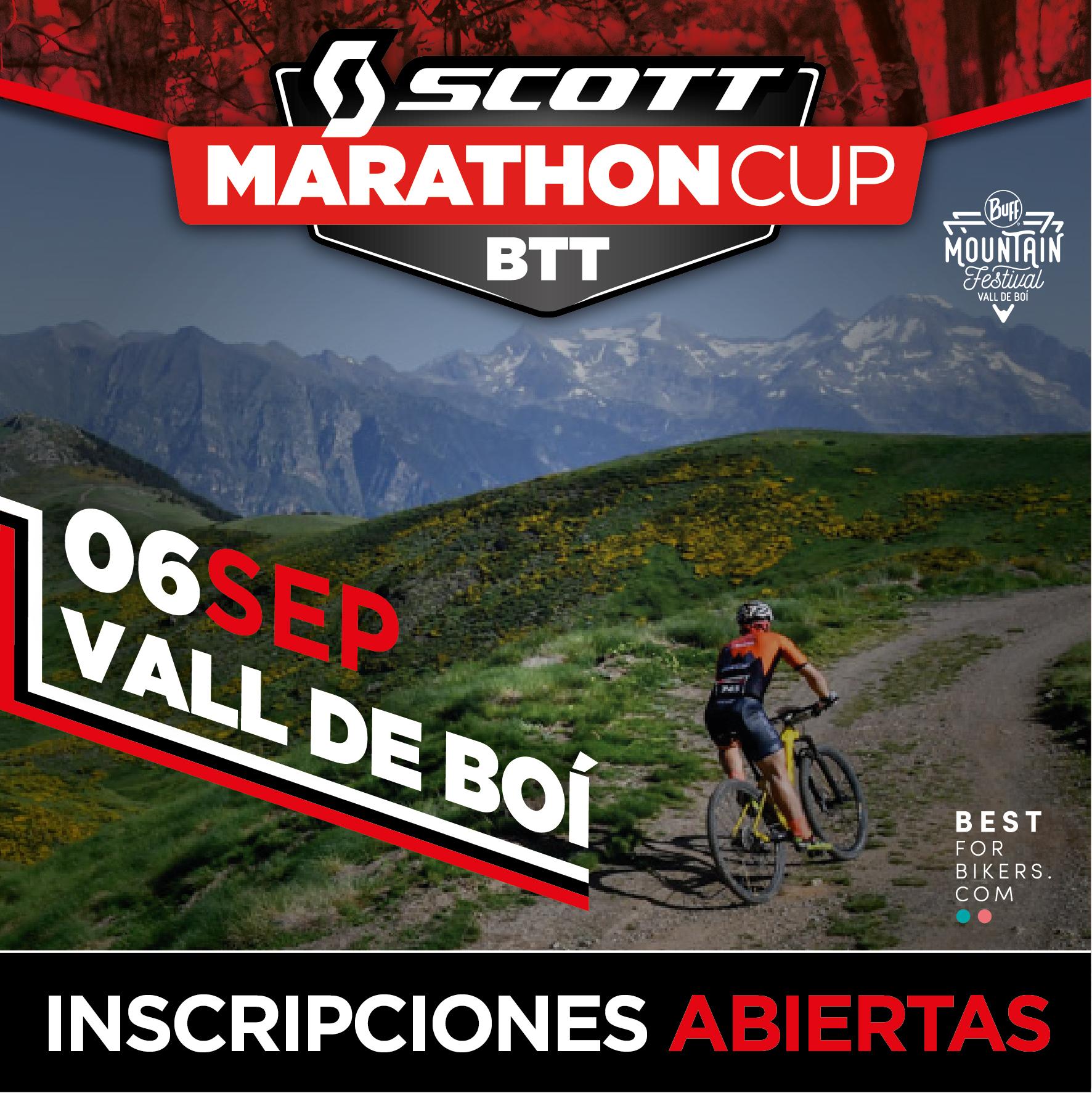 LA SCOTT MARATHON CUP DE LA VALL DE BO� ABRE INSCRIPCIONES