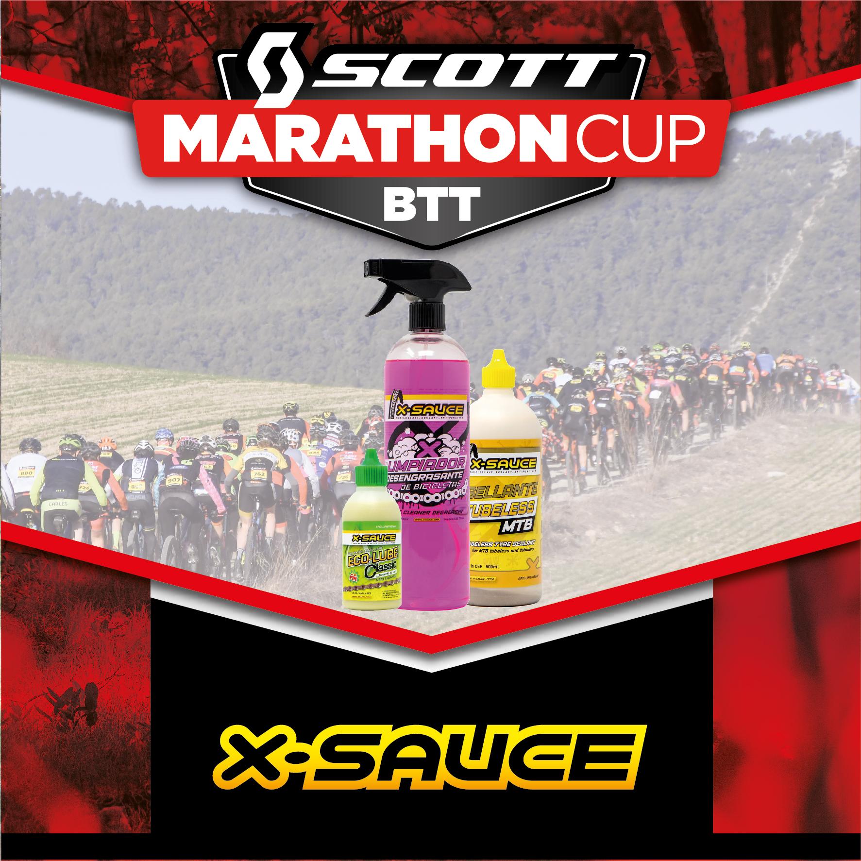 X-Sauce nuevo patrocinador de la Scott Marathon Cup 2020