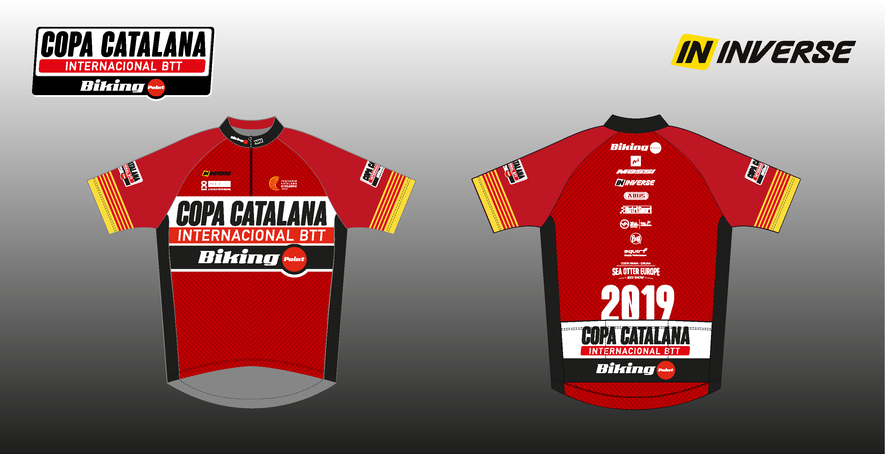 La Copa Catalana Internacional Biking Point i la Super Cup Massi presenten els mallots de líder 2019
