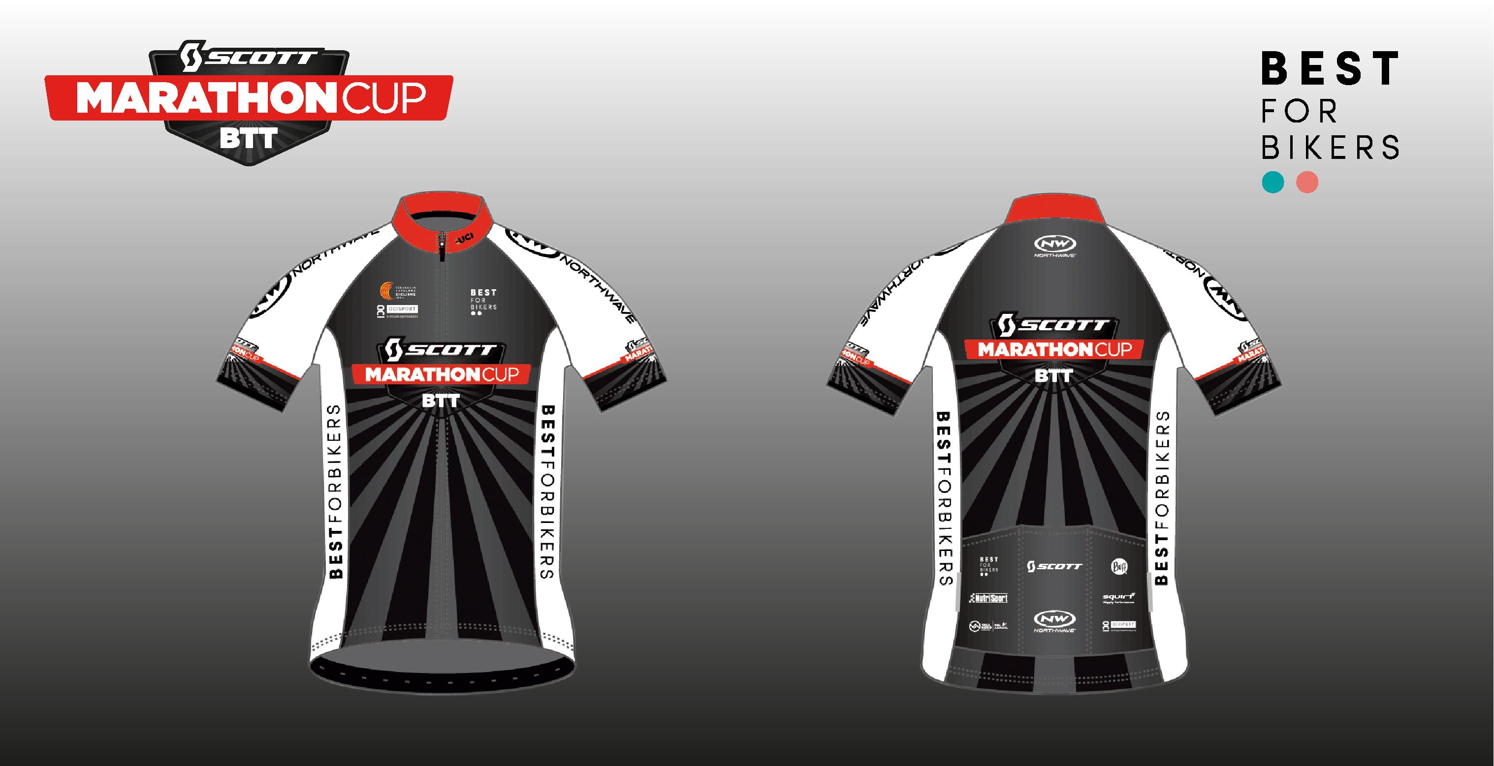 La Scott Marathon Cup presenta los maillots de los l�deres y campeones 2019