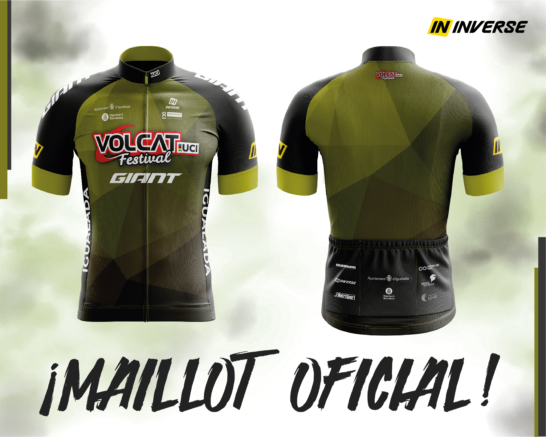 VOLCAT PRESENTS THE JERSEY FOR THE 2020 EDITION MADE BY INVERSE