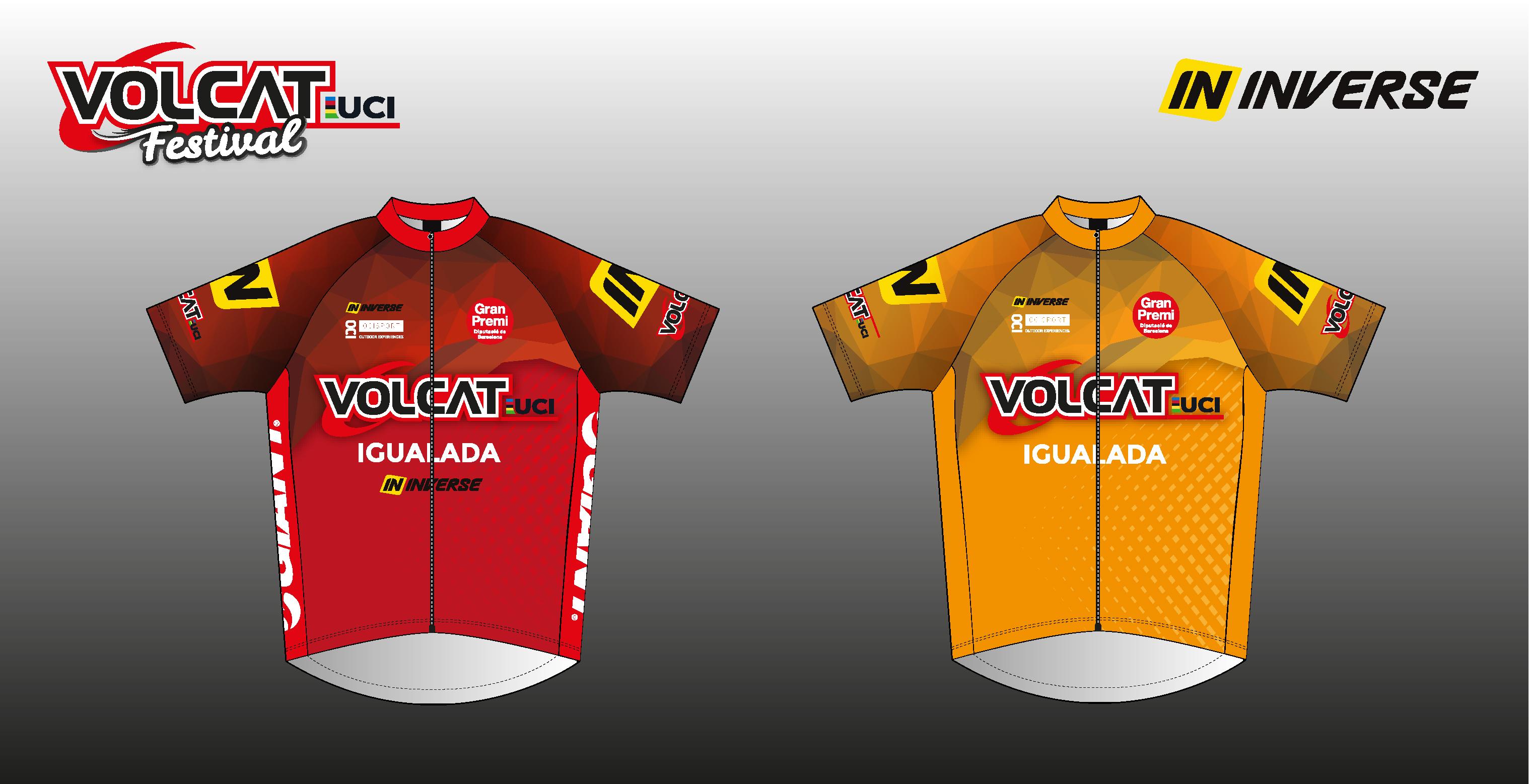 VolCAT presenta los maillots de l�der, campe�n y participaci�n
