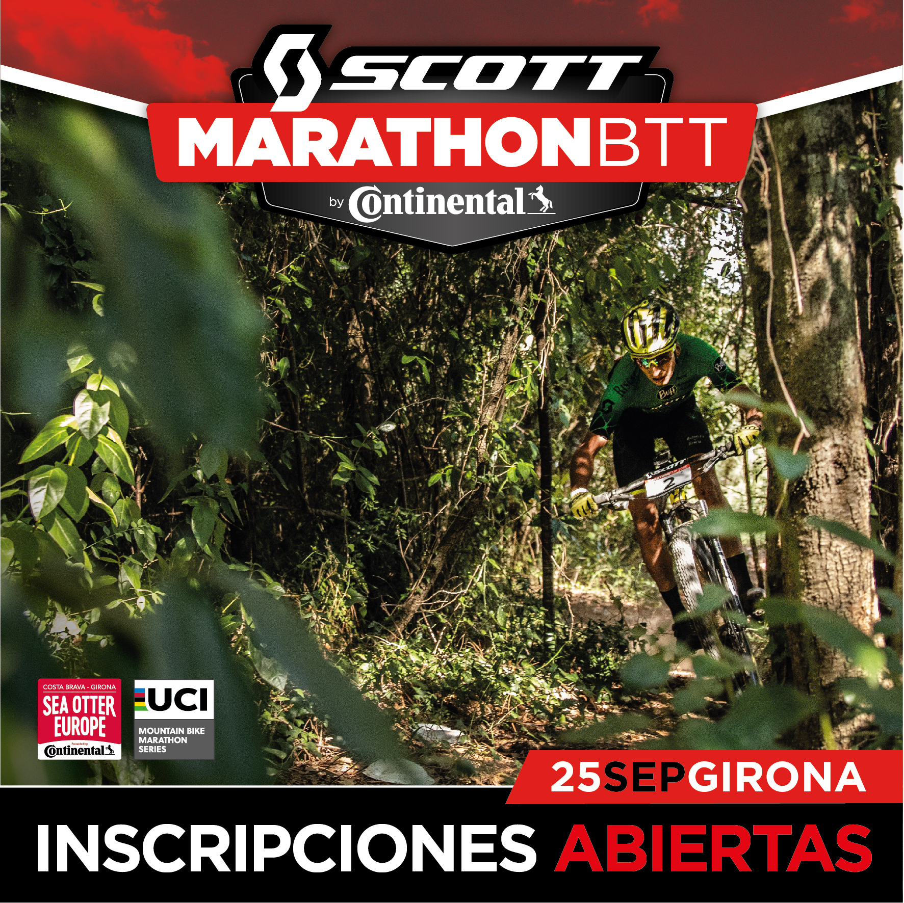 LA SCOTT MARATHON BY CONTINENTAL DE GIRONA ABRE INSCRIPCIONES