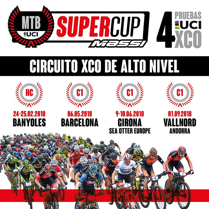 MTB SuperCup Massi un circuit d'XCO d'alt nivell amb 4 proves UCI HC i C1