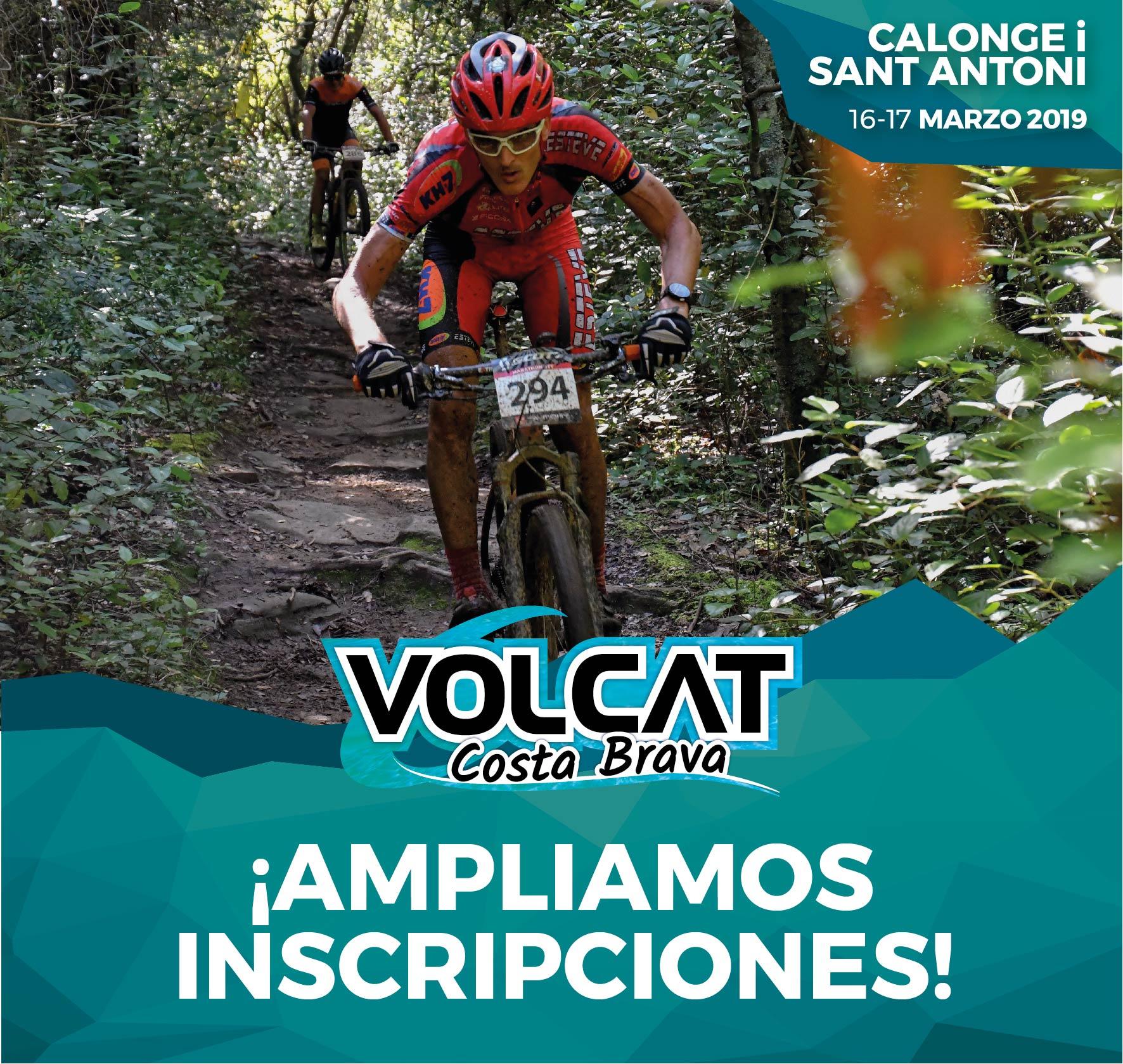 La VolCAT Costa Brava posa en marxa la fórmula del millor mountain bike per a tots els bikers