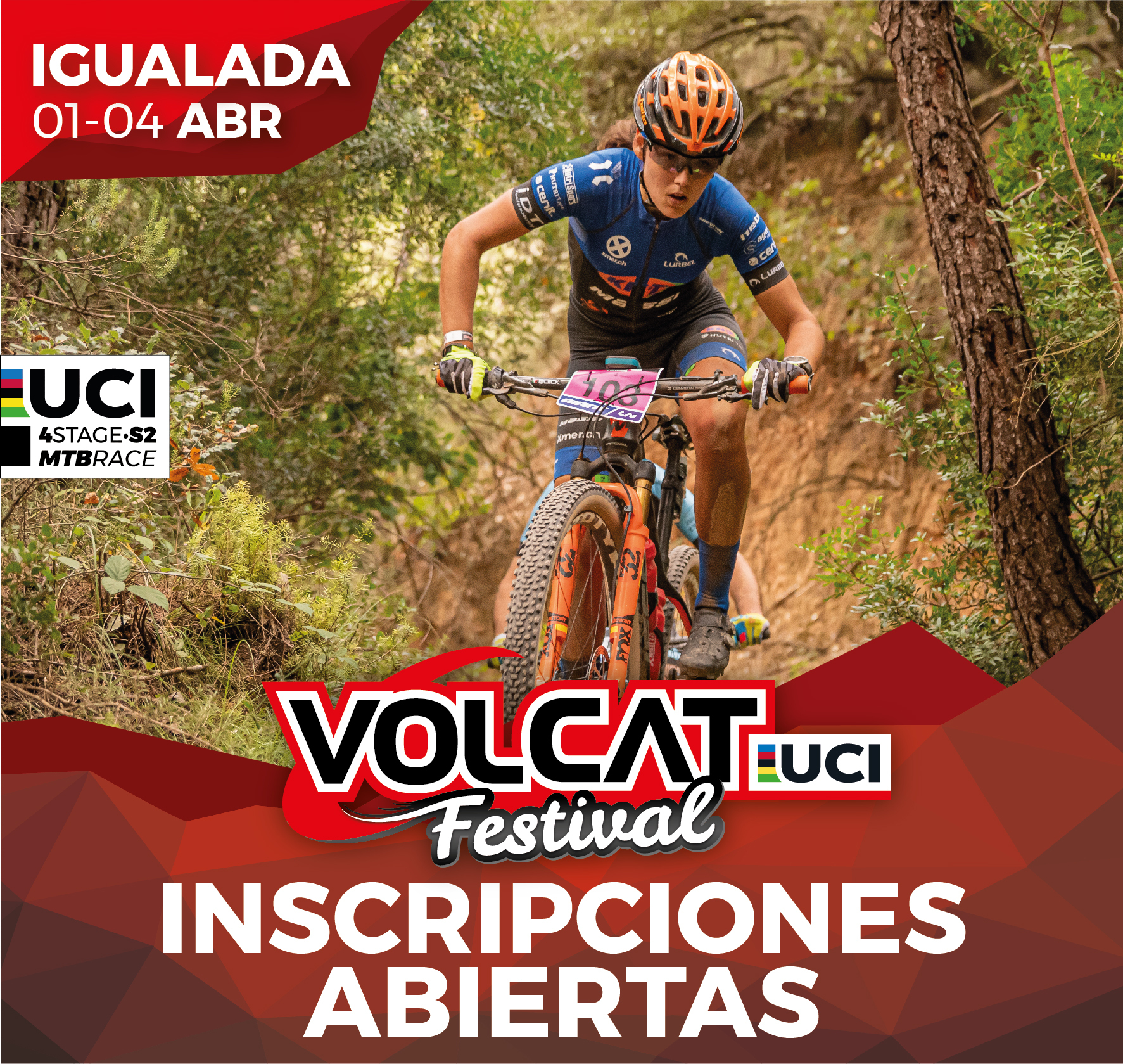 VOLCAT FESTIVAL RETURNS FROM 1 TO 4 APRIL 2021!