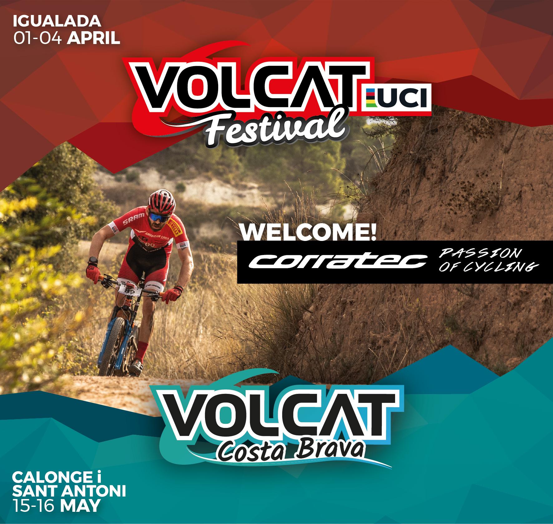 Corratec es converteix en el patrocinador principal de la VolCAT
