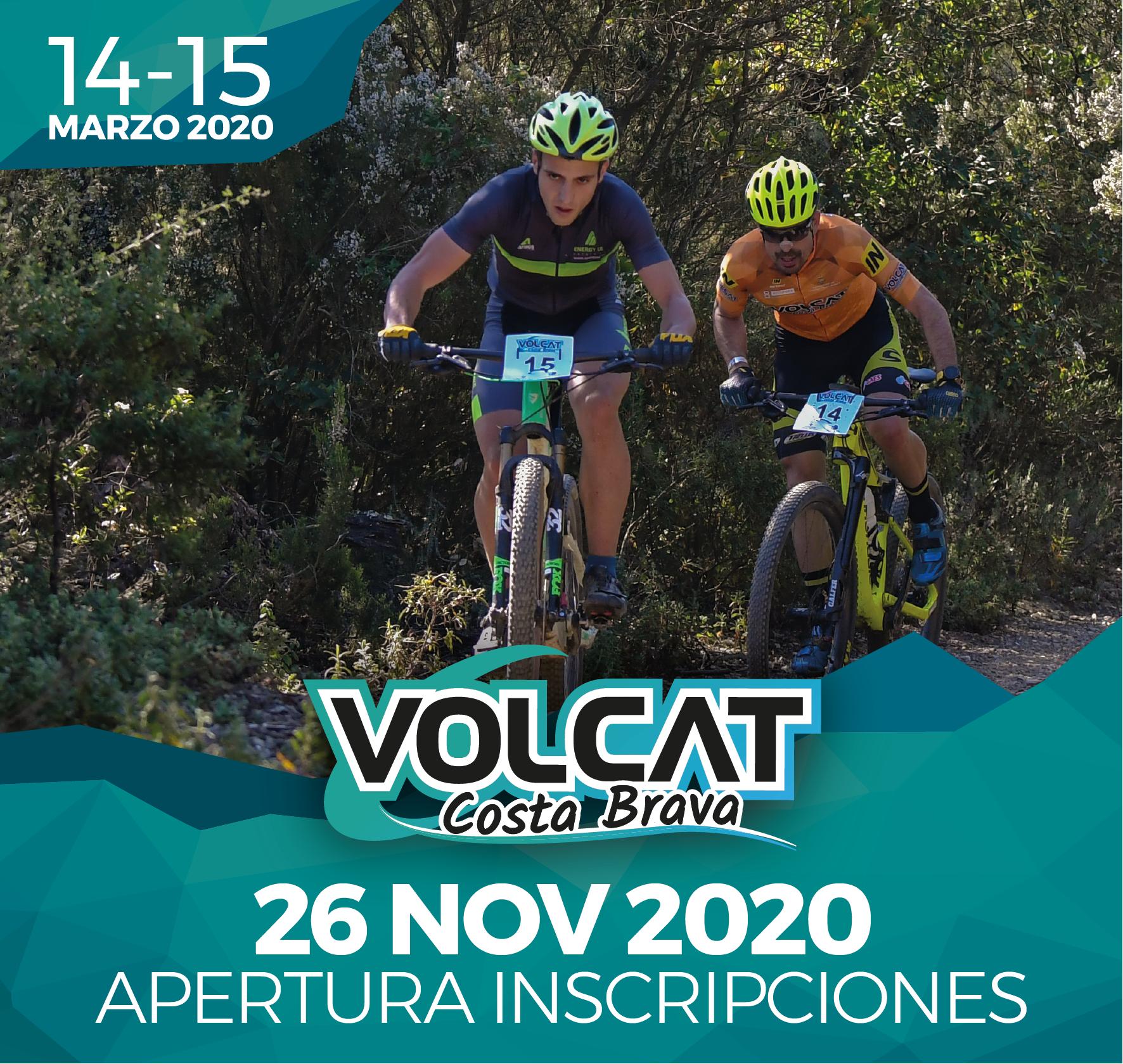 ¡VolCAT Costa Brava 2020 abre inscripciones el 26 de noviembre!