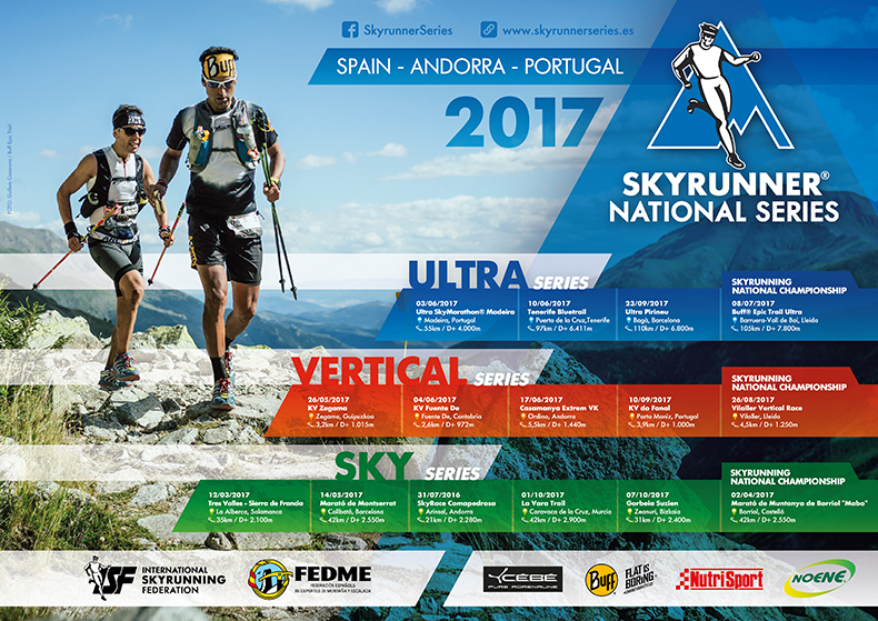 En dos semanas arrancan las Skyrunner National Series, Spain, Andorra & Portugal