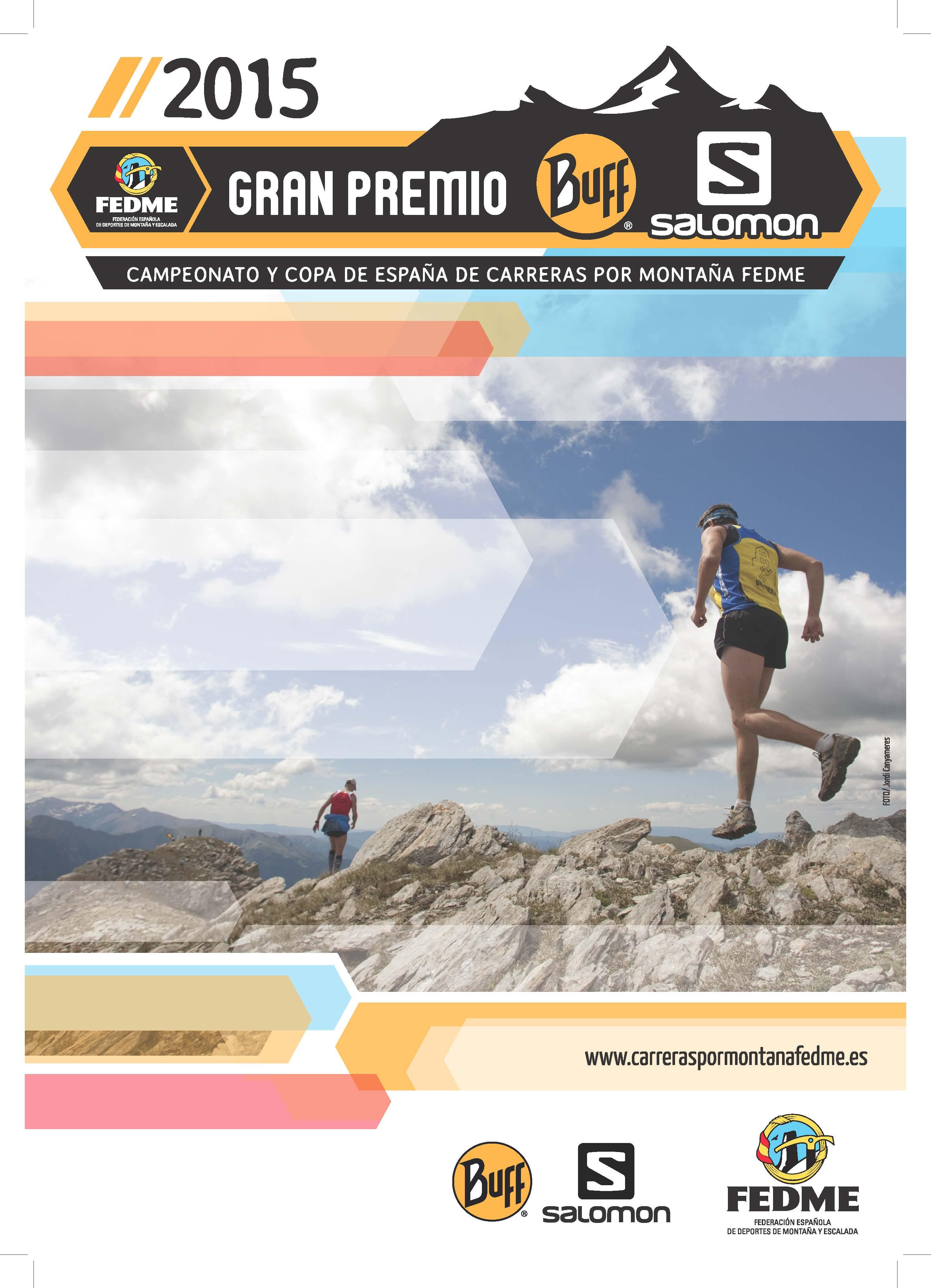 Presentación de la nueva imagen y calendario de la Copa de España de Carreras por Montaña Gran Premio Buff-Salomon FEDME