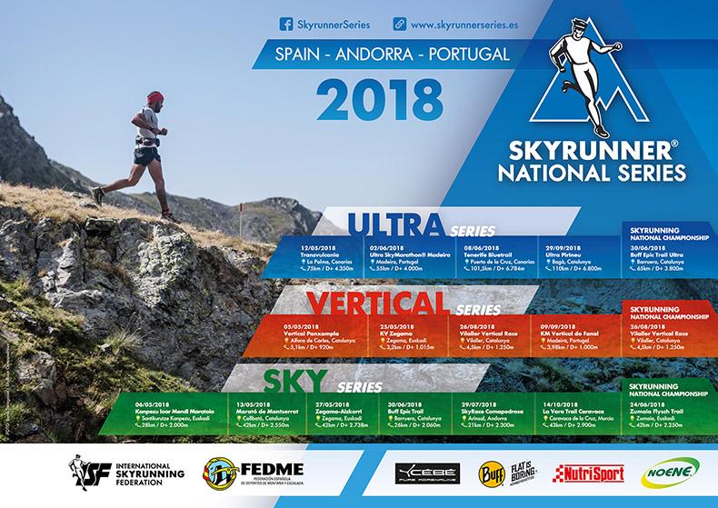 Presentado el calendario oficial de la quinta edici�n del Skyrunner� National Series Spain, Andorra & Portugal con 16 carreras en las tres disciplinas