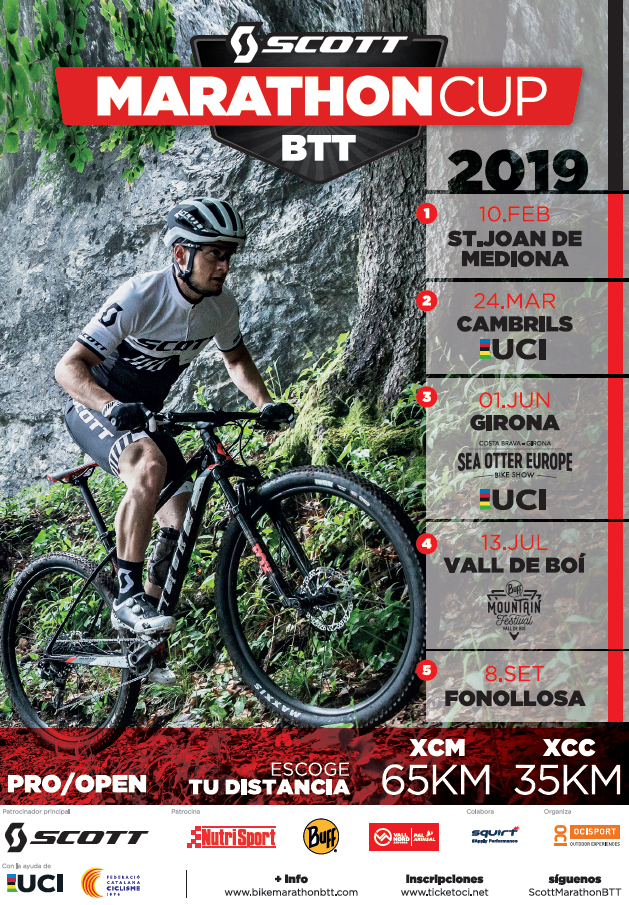 The Scott Marathon Cup MTB 2019 makes headway to form part of the UCI Marathon Series