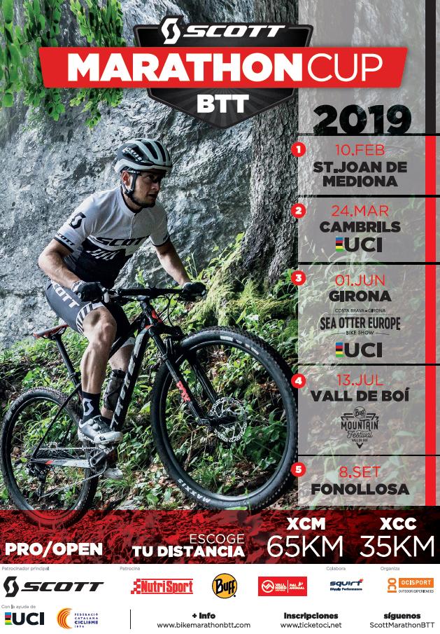 La Scott Marathon Cup BTT 2019 dona el salt internacional entrant a les UCI Marathon Series