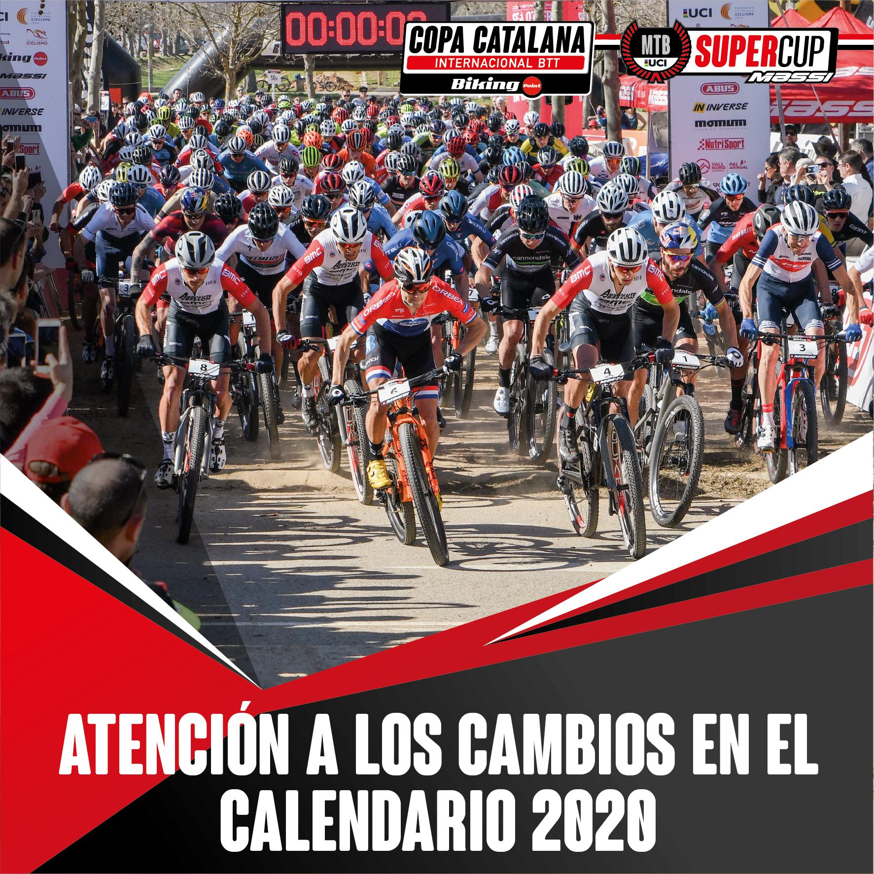 LA COPA CATALANA INTERNACIONAL BIKING POINT SUFRIR� CAMBIOS EN EL CALENDARIO 2020 POR EL CORONAVIRUS