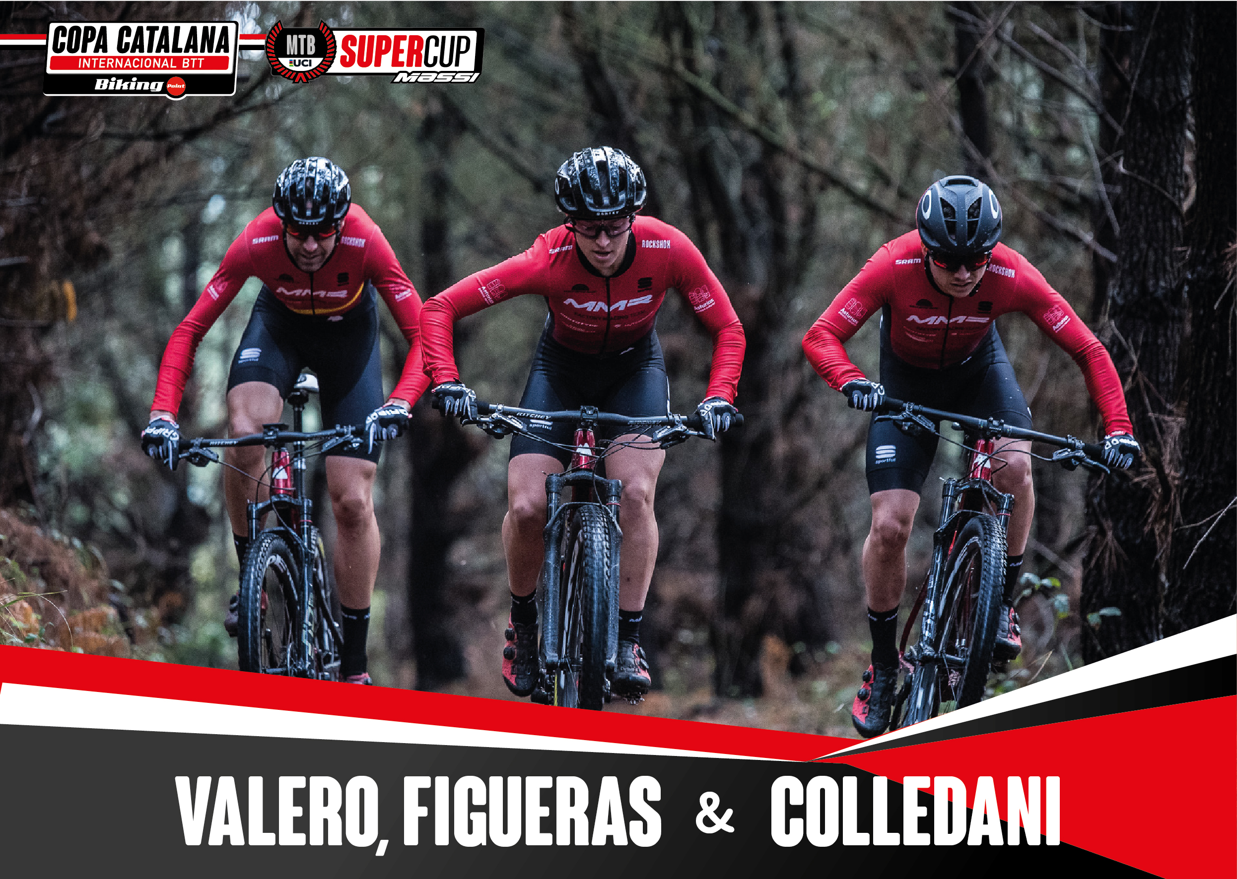 Valero, Figueras y Colledani del MMR Factory Racing Team, confirman su presencia en la Super Cup Massi de Banyoles