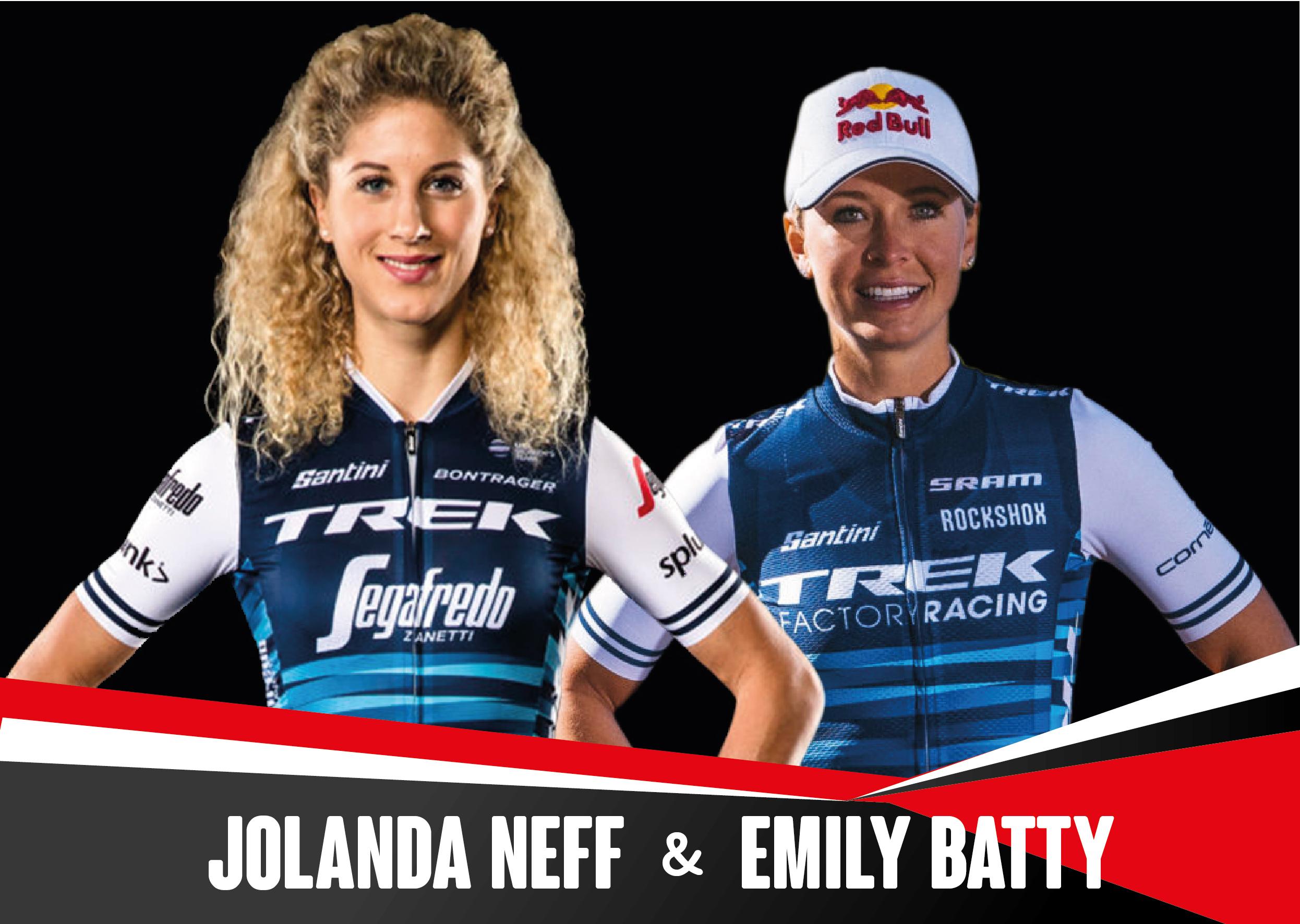 Emily Batty y Jolanda Neff del Trek Factory Racing, primeras estrellas mundiales en confirmar su participaci�n en la Super Cup Massi de Banyoles