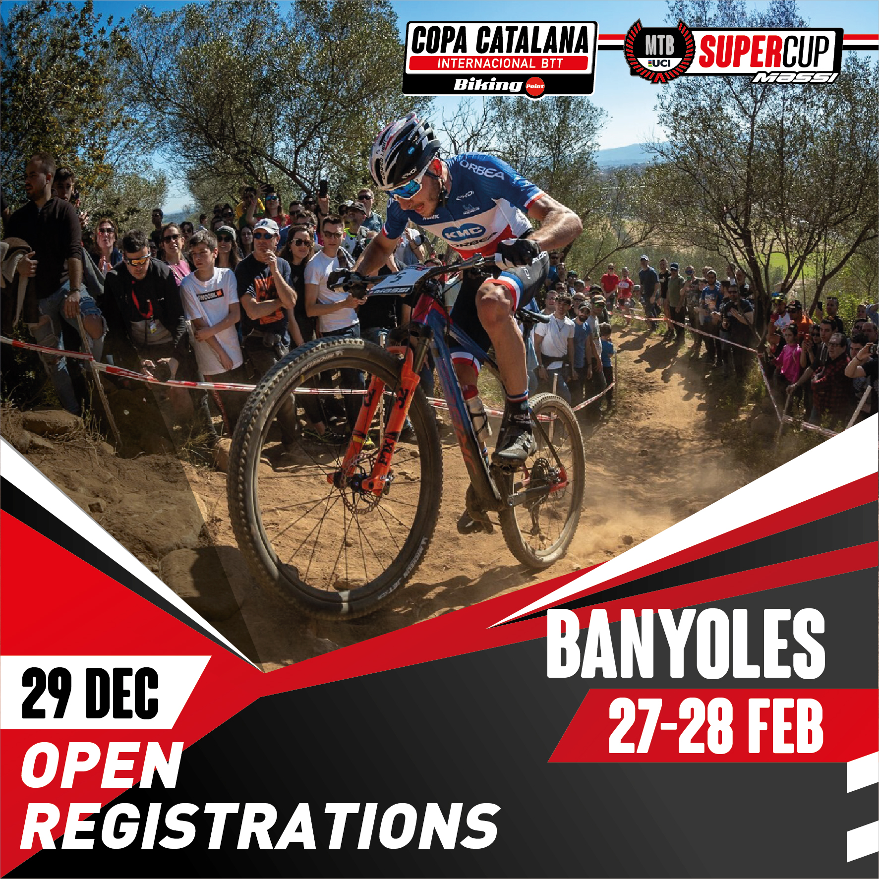 REGISTRATION FOR THE SUPER CUP MASSI IN BANYOLES WILL OPEN ON 29 DECEMBER