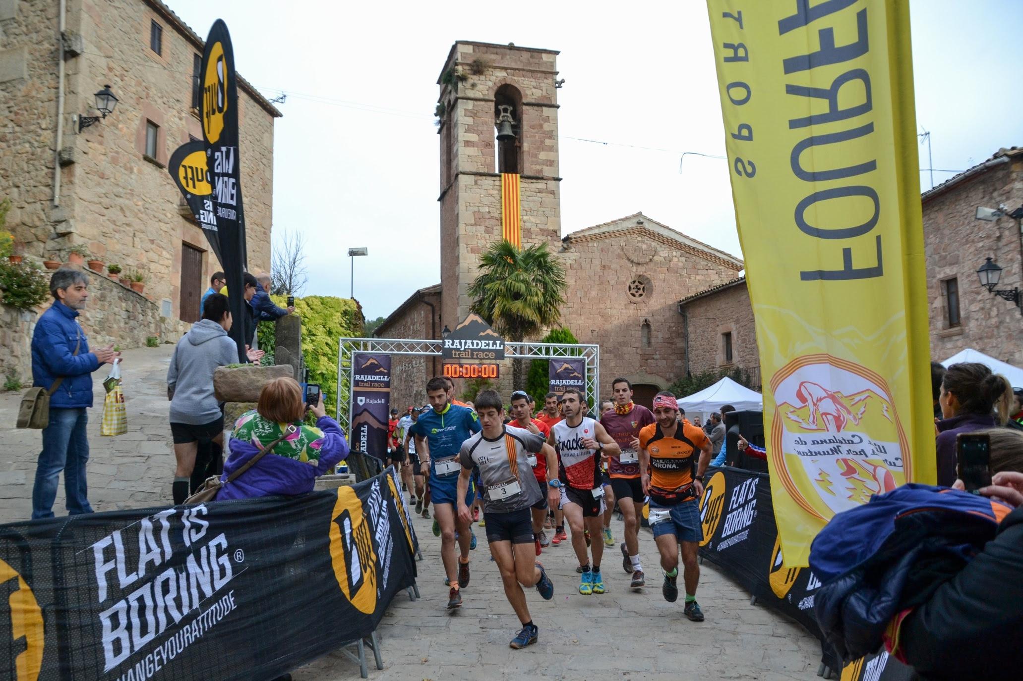Andreu Simon i Gemma Colomé guanyen la Rajadell Trail Race i s'imposen a la Lliga Catalana de Curses de Muntanya