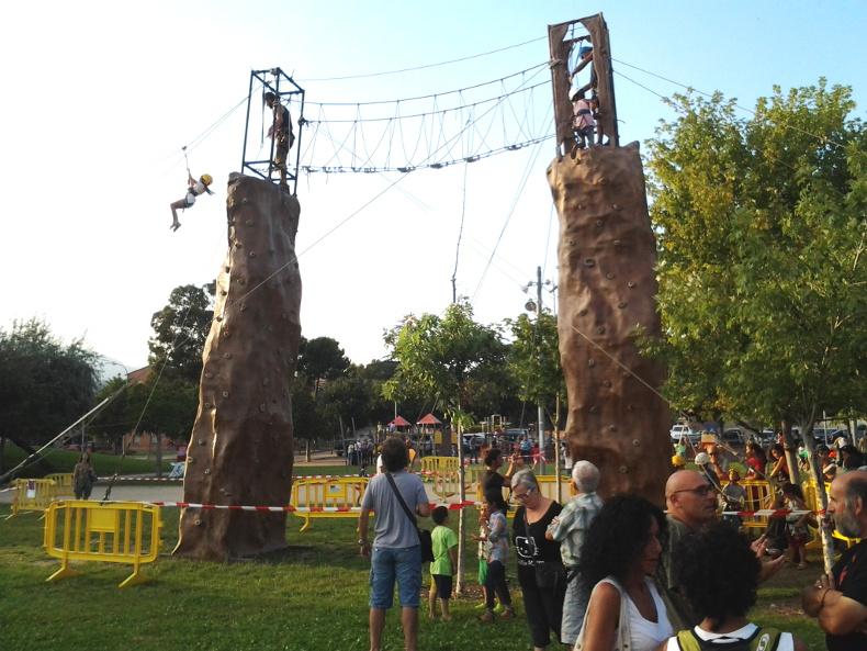 Confirmades grans estructures de rocòdroms, tirolines i circuits d'agilitat al Festival Esport i Natura Igualada