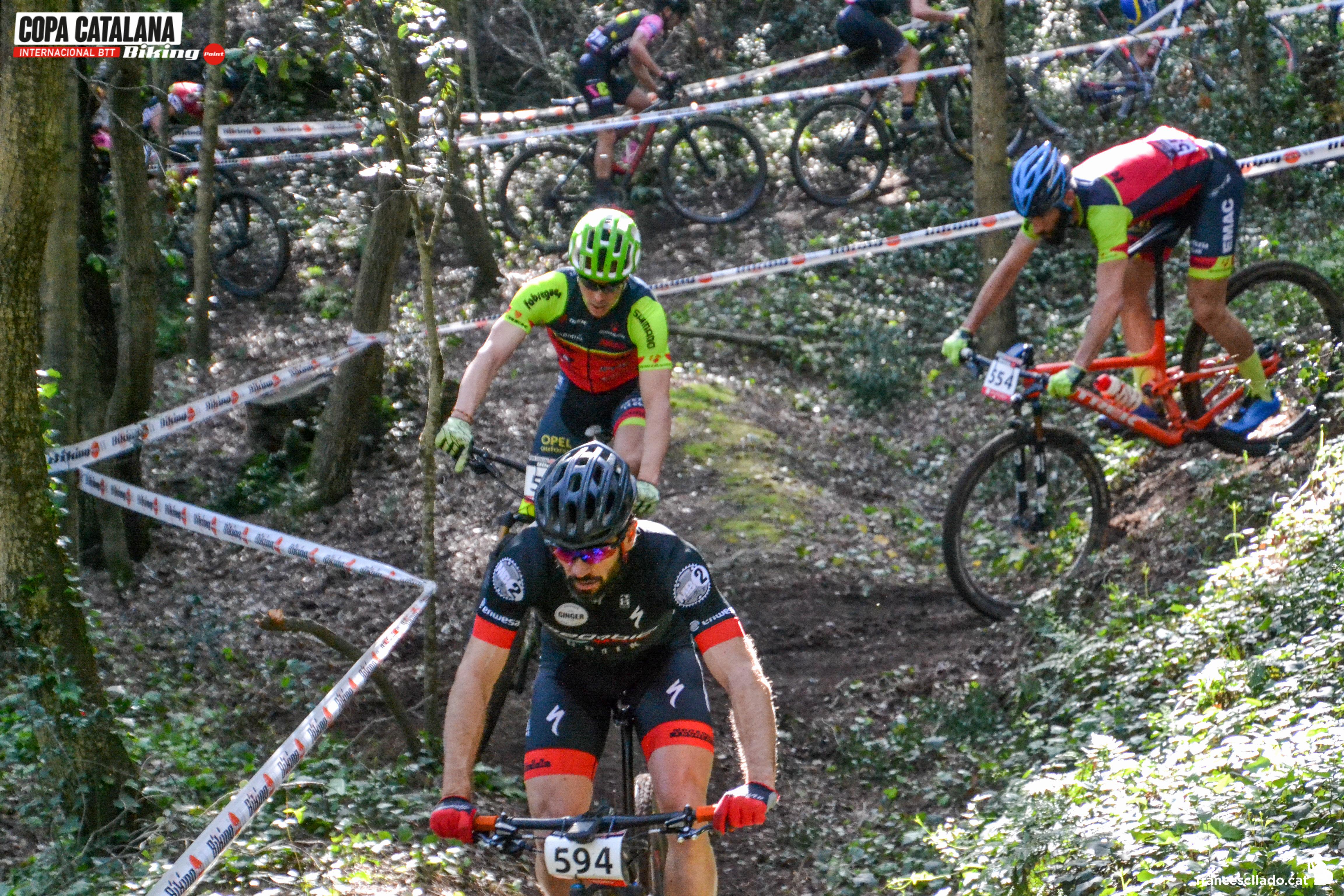 Santa Susanna se prepara para coronar a un nuevo l�der de la Copa Catalana Internacional Biking Point