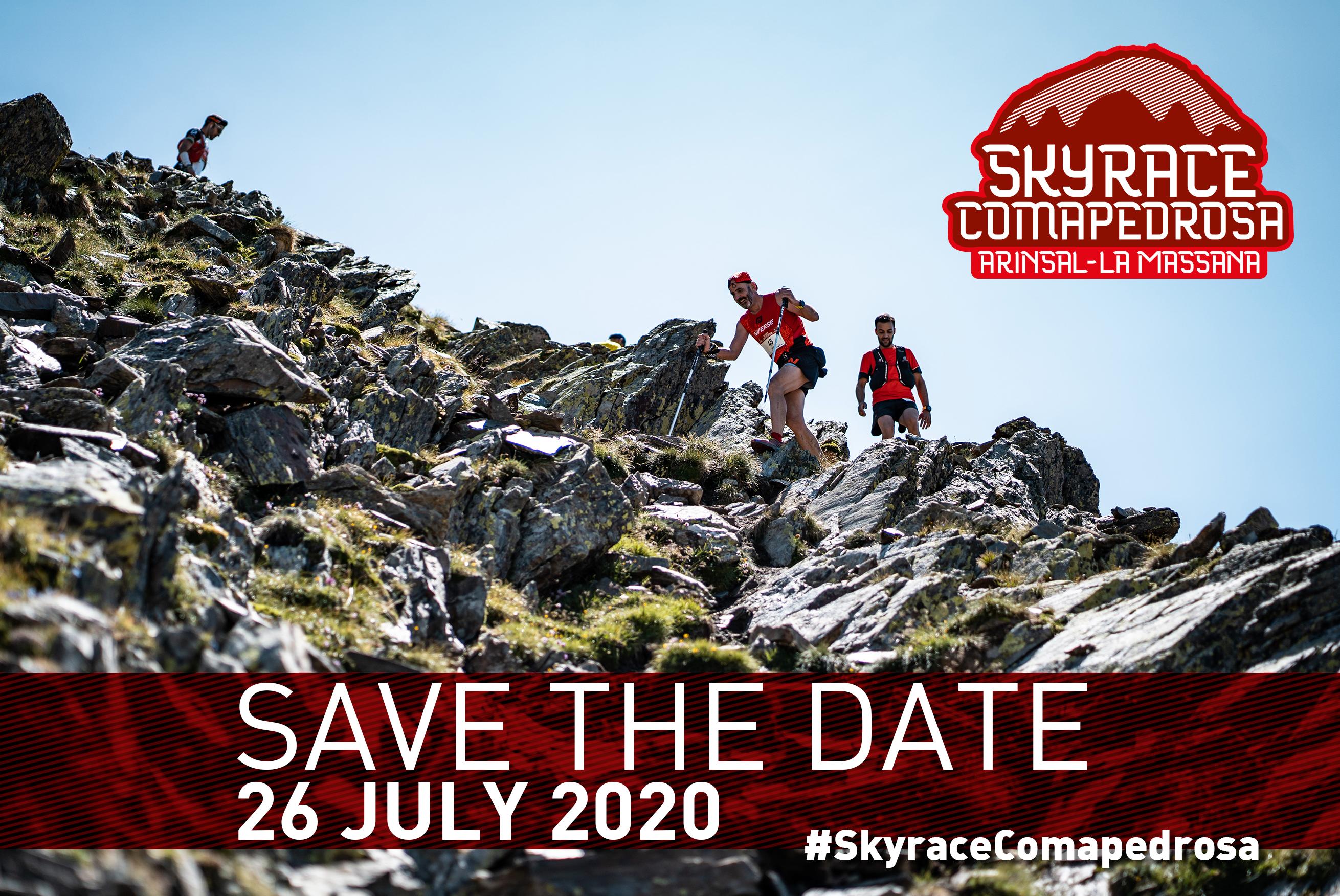 La Skyrace Comapedrosa de 2020 ya tiene fecha. Será el 26 de julio y de nuevo formará parte de las Migu Run Skyrunner World Series