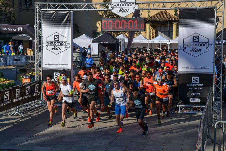 La Salomon Run omple de diversió i aventura Montjuïc