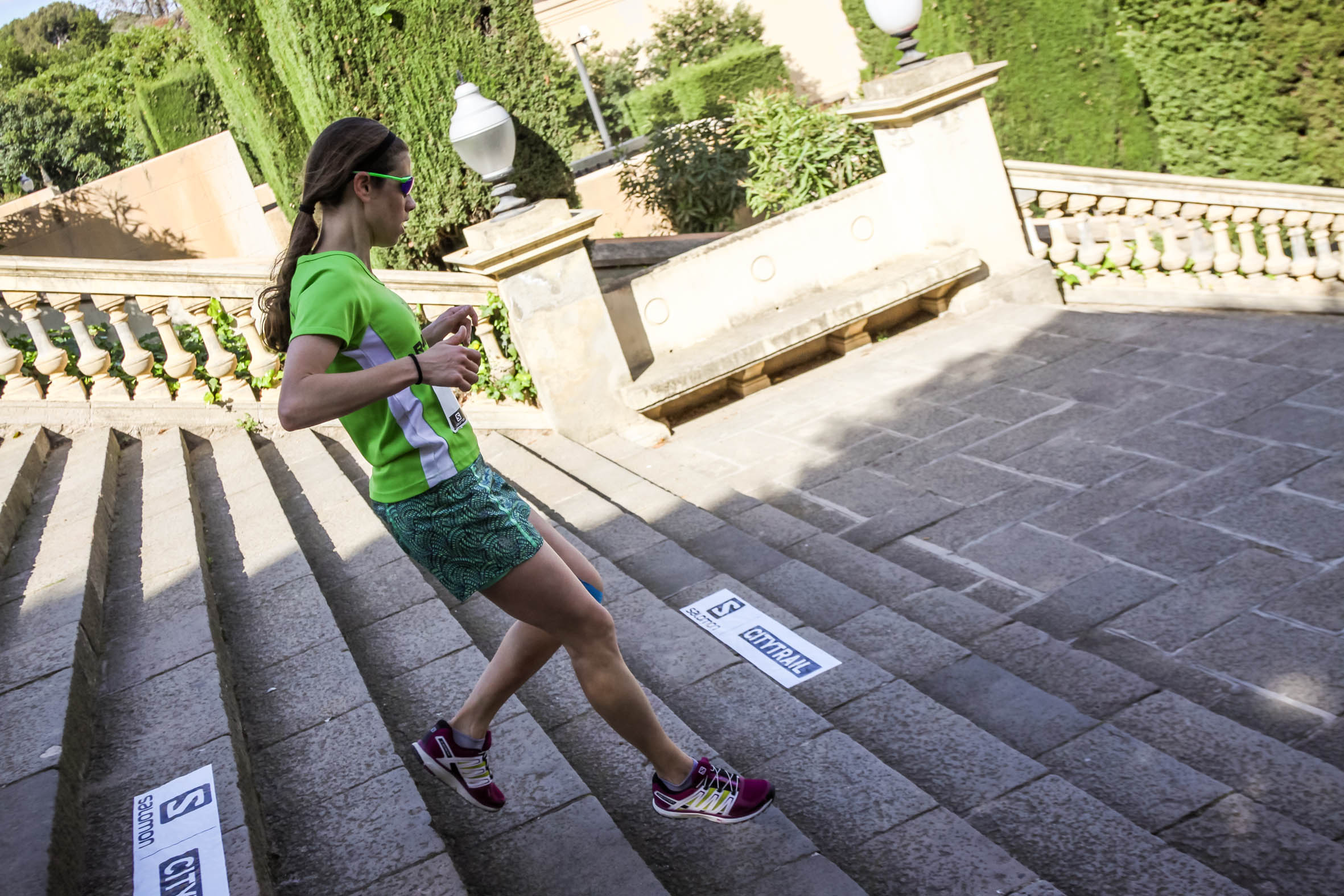 M�s de 1600 corredores vivir�n la aventura de la Salomon Run Barcelona