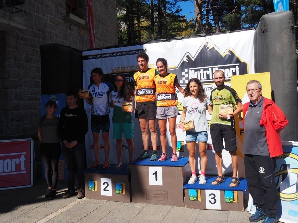 Gisela Carrión y Mikel Beunza se proclaman Campeones de la Copa de España de Carrera Vertical FEDME GP Nutrisport
