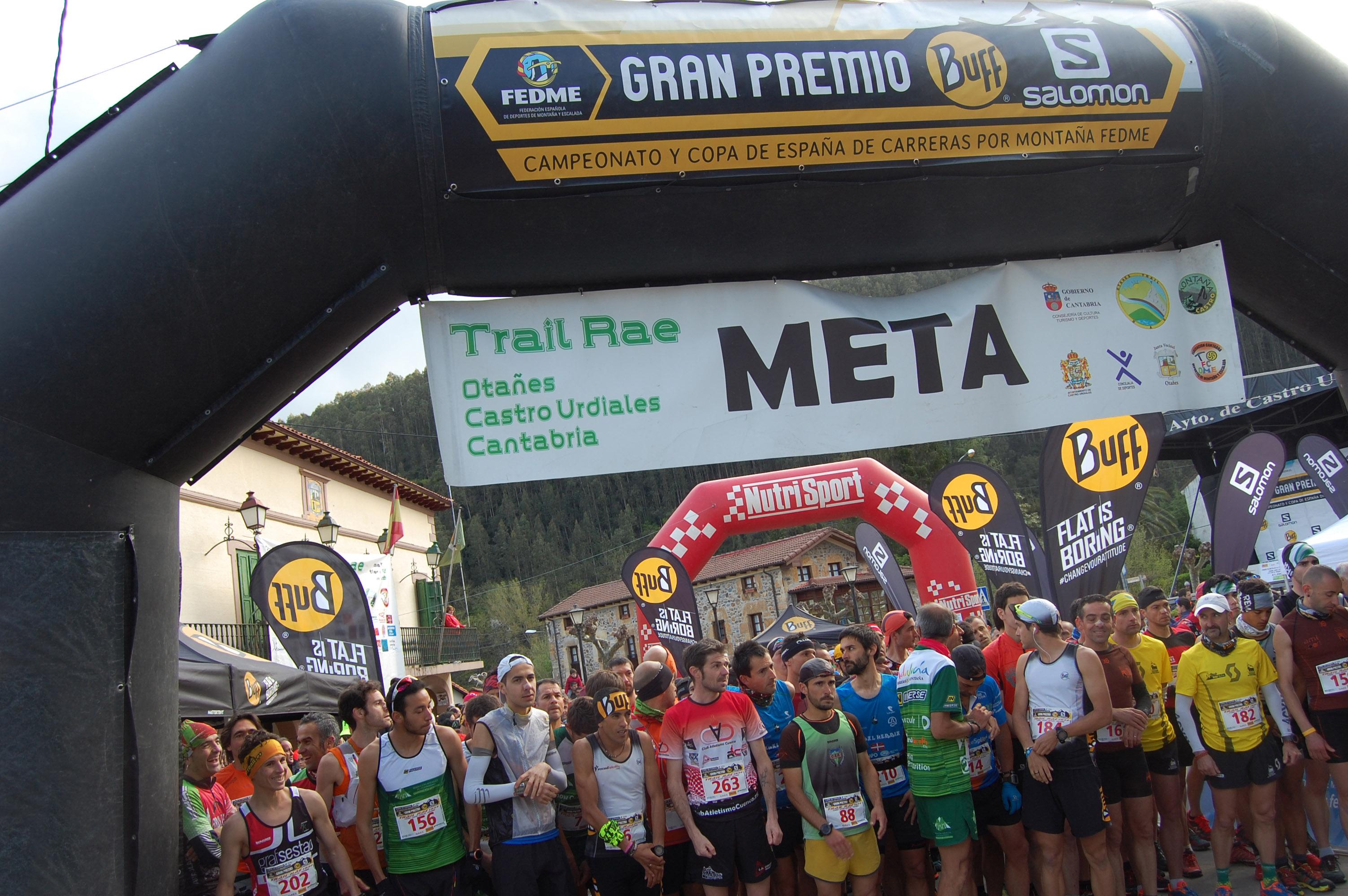 Zaid Ait Malek y Marta Molist se llevan la victoria en la Trail RAE de Otañes de la Copa de España de Carreras en línea FEDME - Gran Premio BUFF® Salo