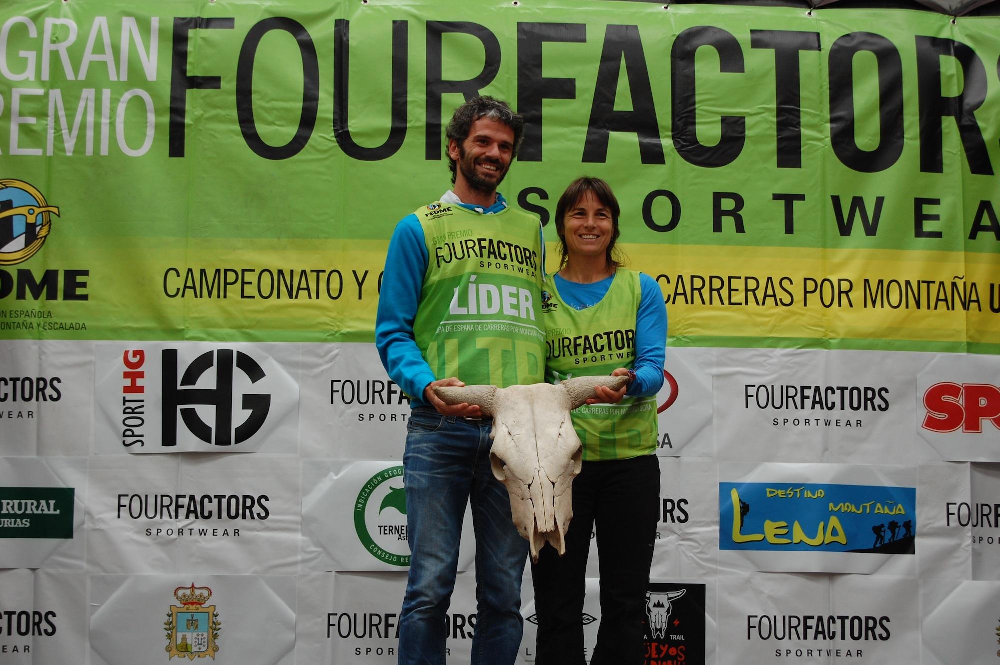 Luis Tejero y Nuria Domíngez se imponen en la Ultra Güeyos del Diablu de la Copa España de Carreras por Montaña Ultra GP Four Factors