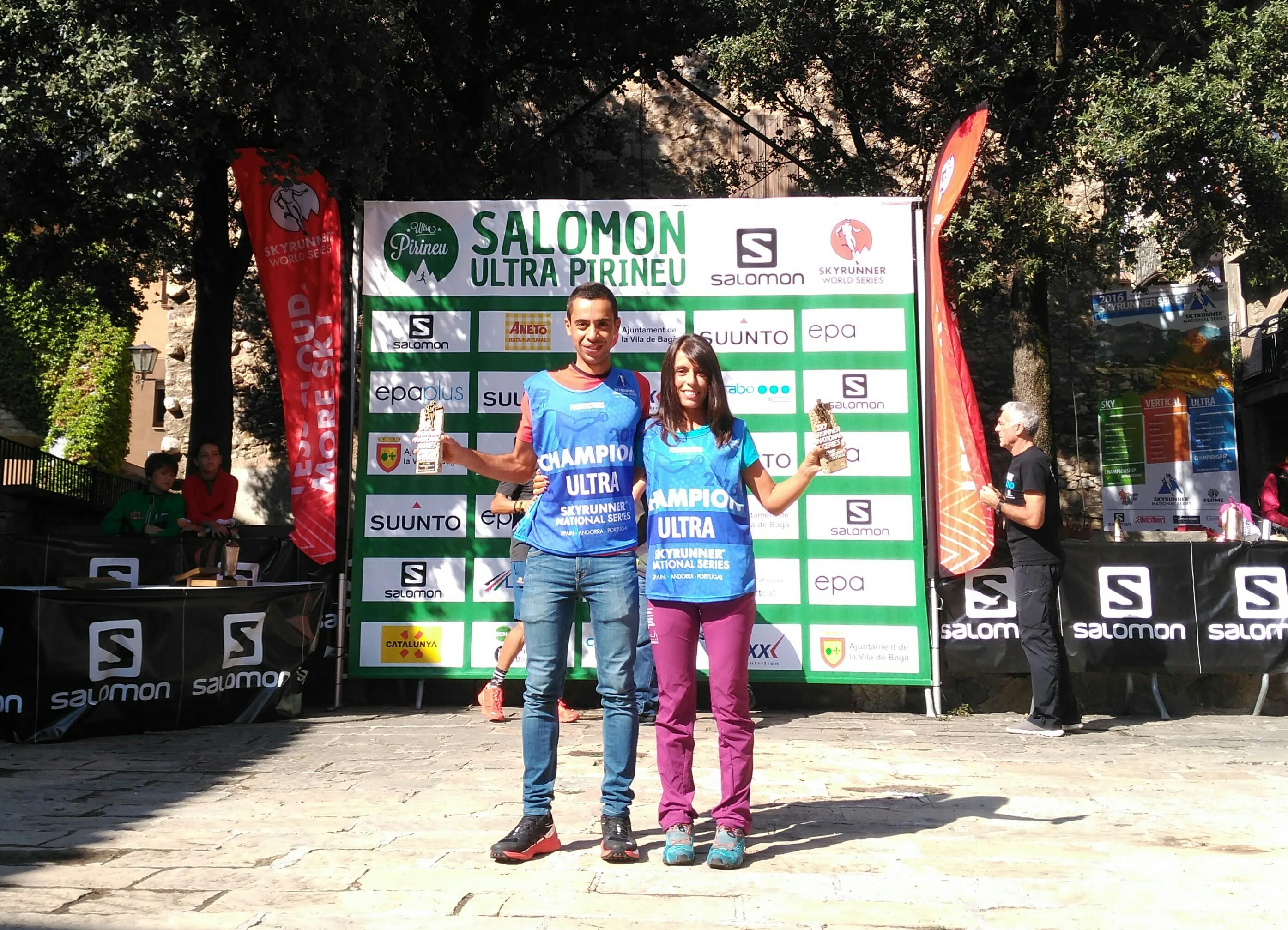 Cristofer Clemente y Gemma Arenas se proclaman campeones de las Ultra Series en Ultra Pirineu