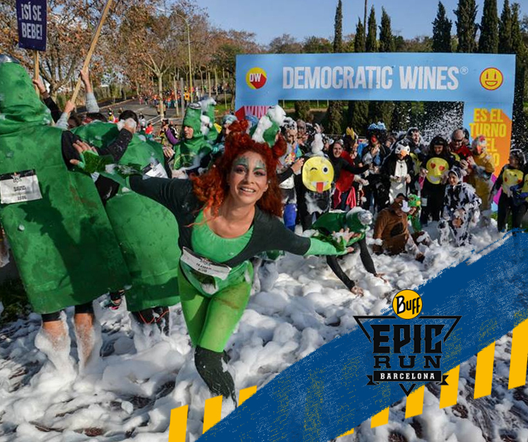 �LTIMOS D�AS PARA INSCRIBIRTE A LA FIESTA DE LAS 10 EDICIONES DE LA BUFF EPIC RUN