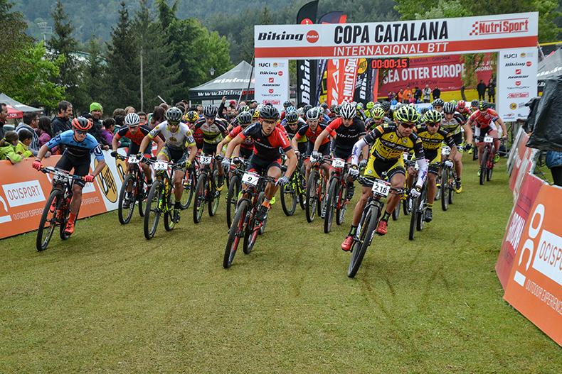Hugo Drechoui Magda Duran guanyadorsde la Copa Catalana Internacional BTT Biking Point de Vall de Lord
