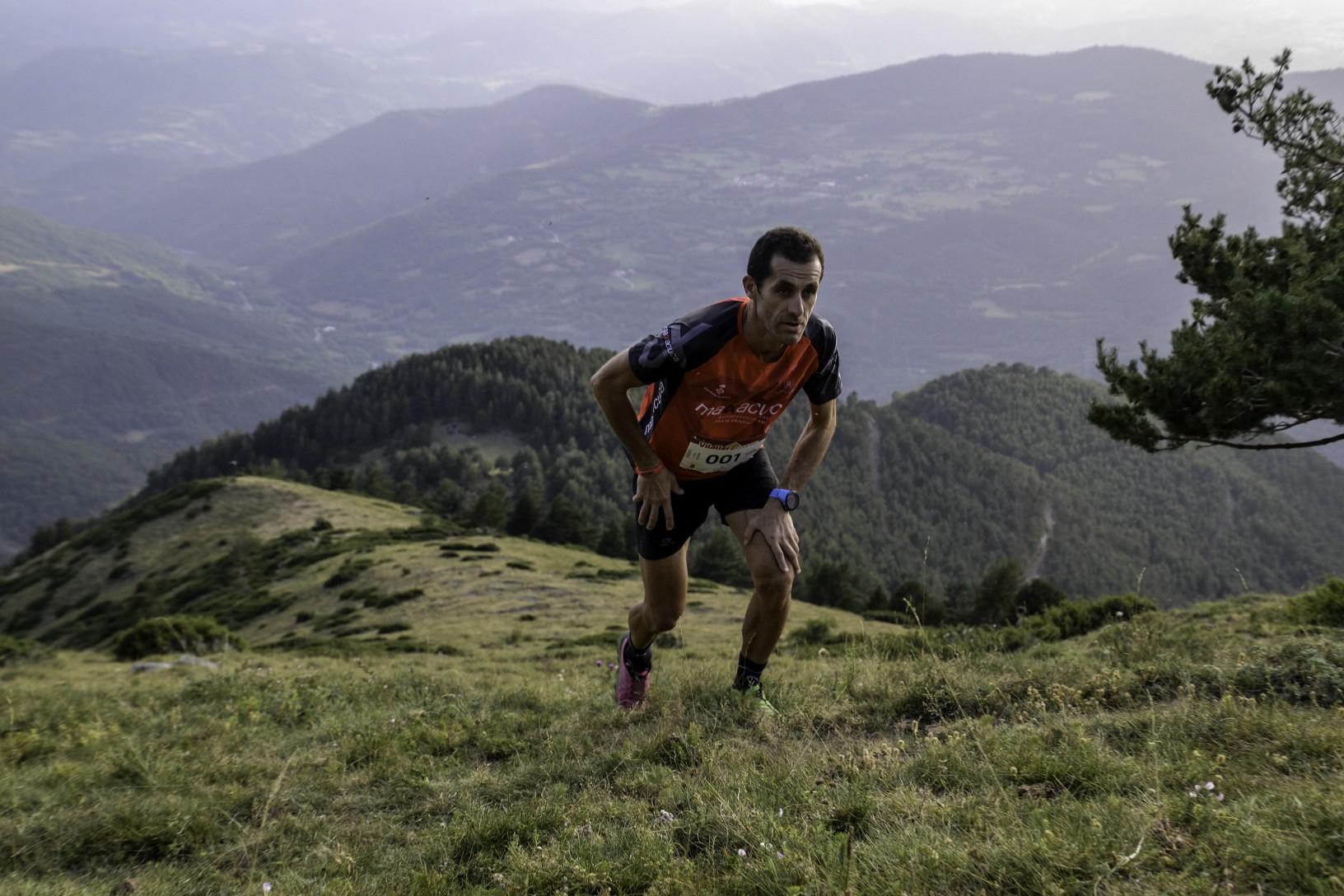 Agustí Roc i Silvia Leal es proclamen campions de l'Skyrunning National Championship Vertical a la Vilaller Vertical Race
