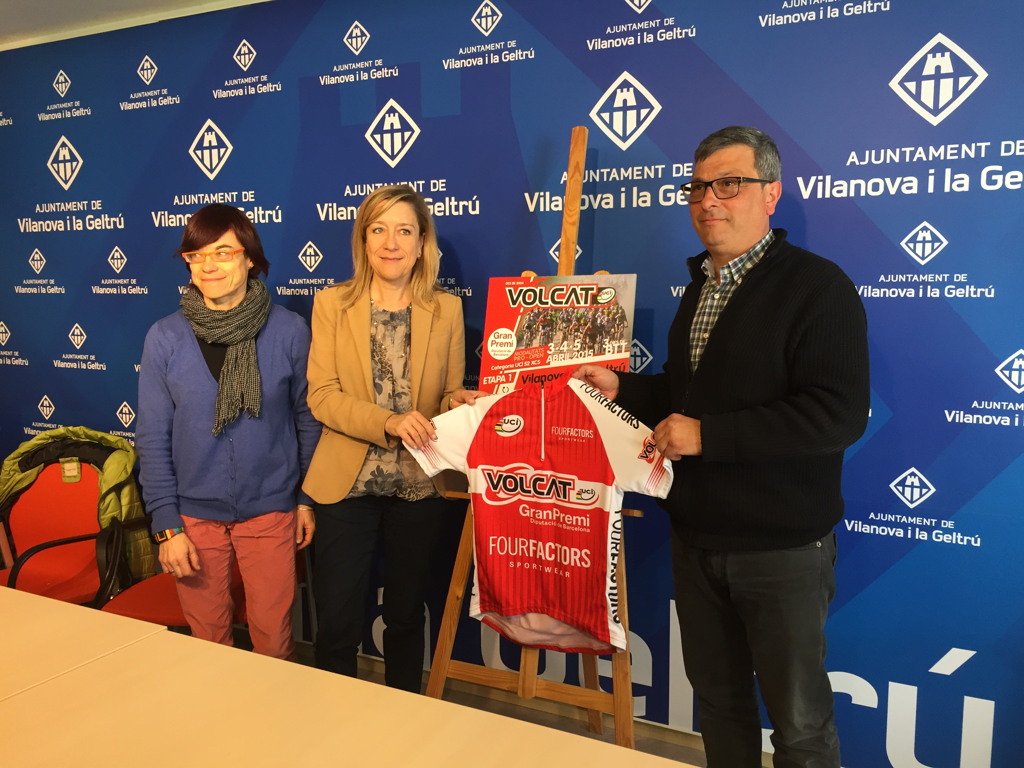 Vilanova i la Geltr� presenta la primera etapa de la VolCat