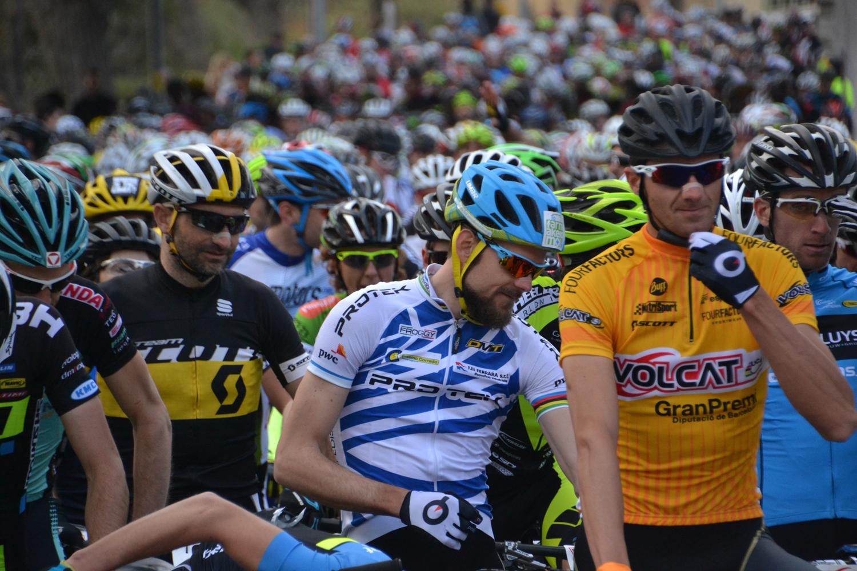 La VolCat da un salto de calidad y dobla la participaci�n atrayendo a ciclistas de 15 nacionalidades