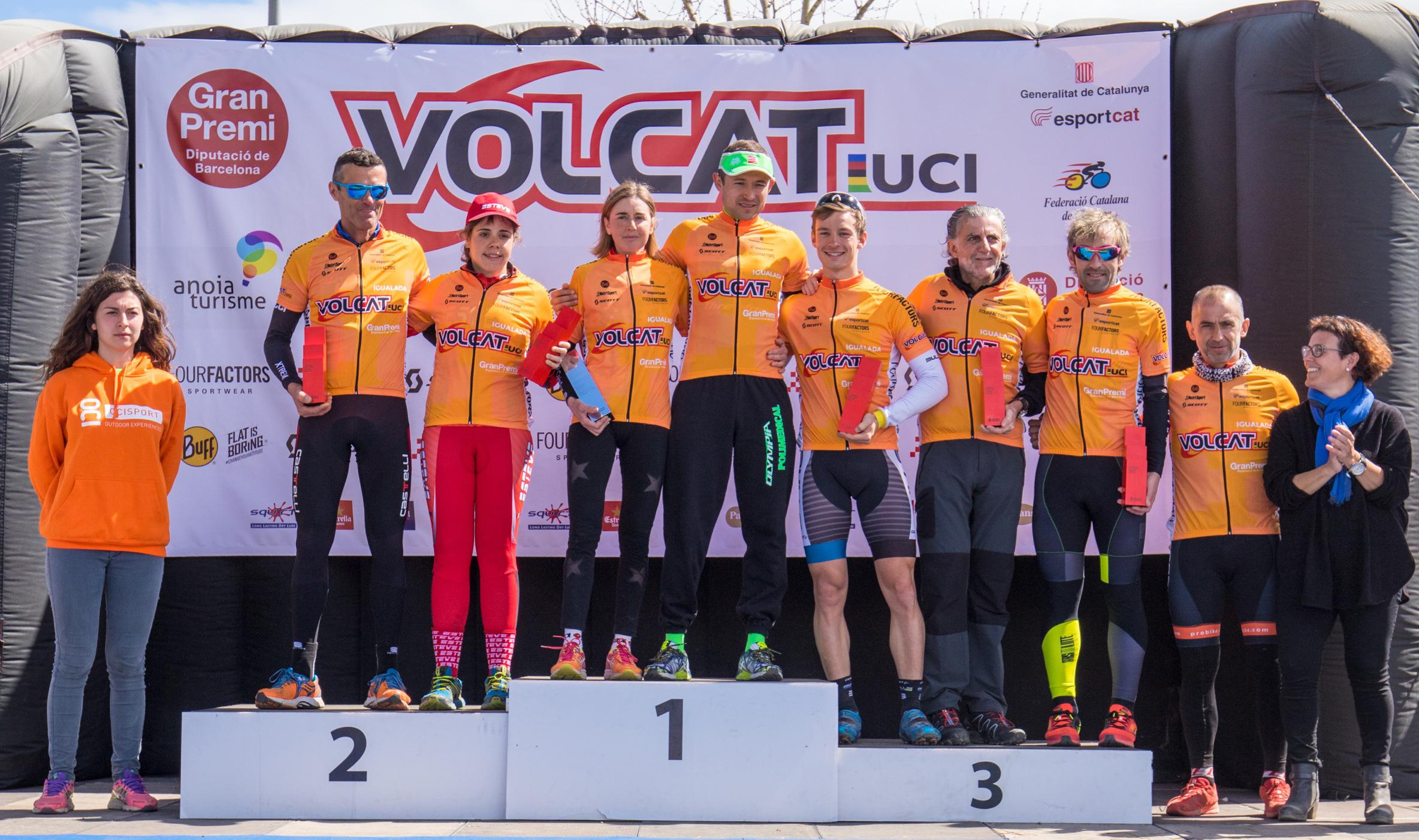 Leonardo P�ez y Annabella Stropparo campeones de la VolCAT m�s internacional