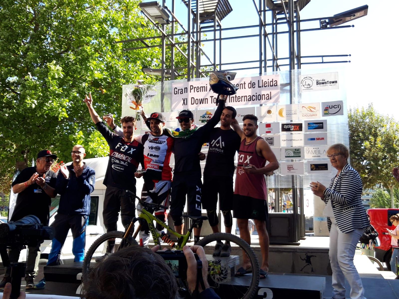Henrique Miranda Walace repeteix com a rei del XI Downtown Gran Premi Internacional Ciutat de Lleida
