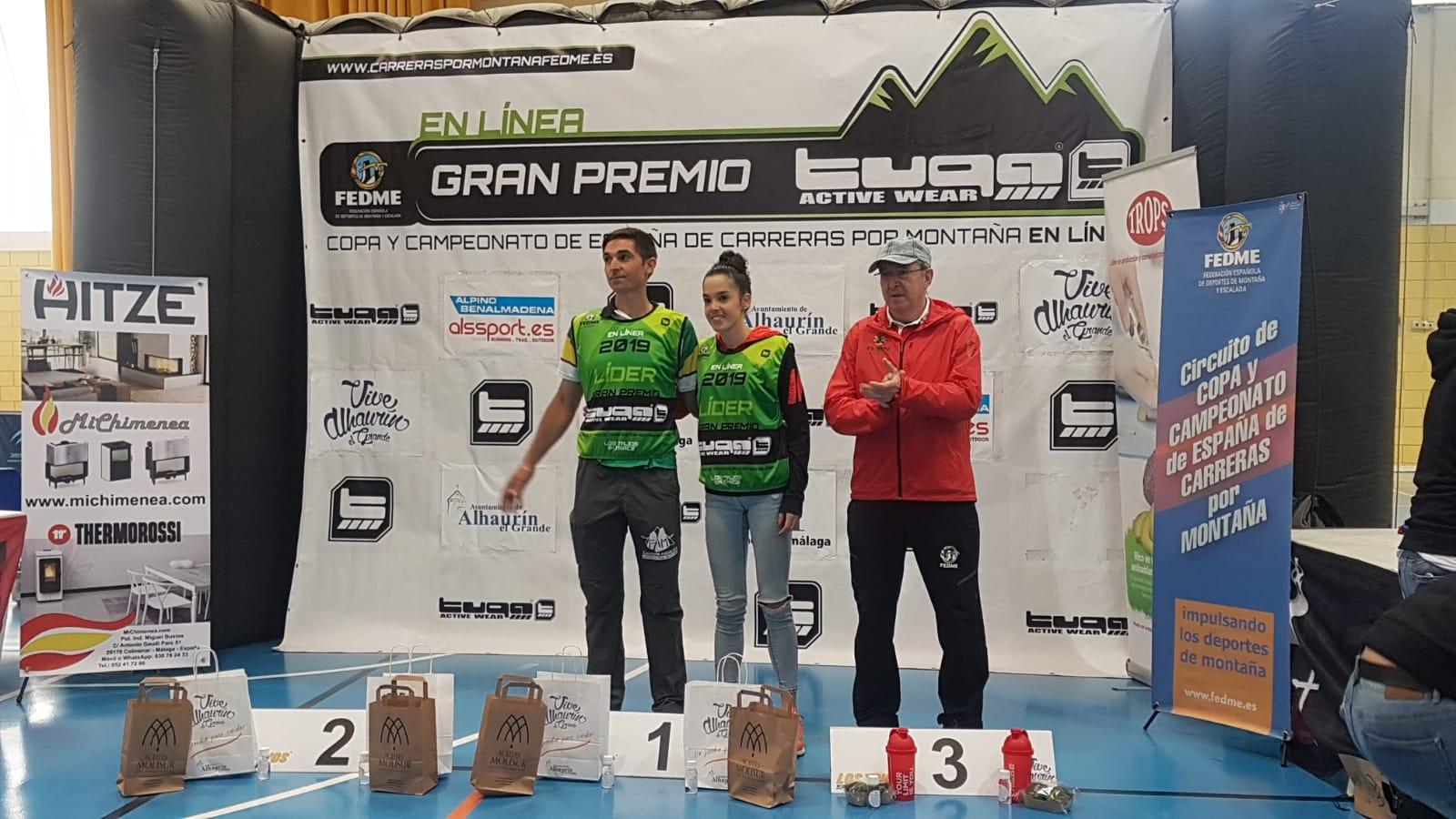 Antonio Herrera y Gemma Arenas se'apoderan' de una trepidante Los TajosSkyrace
