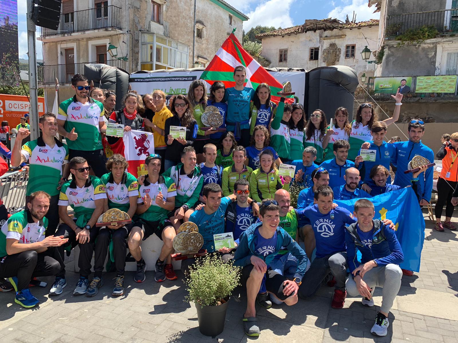 Oier Ariznabarreta y Ainhoa Sanz son los nuevos Campeones de España de Carreras por Montaña FEDME –Gran Premio Tuga