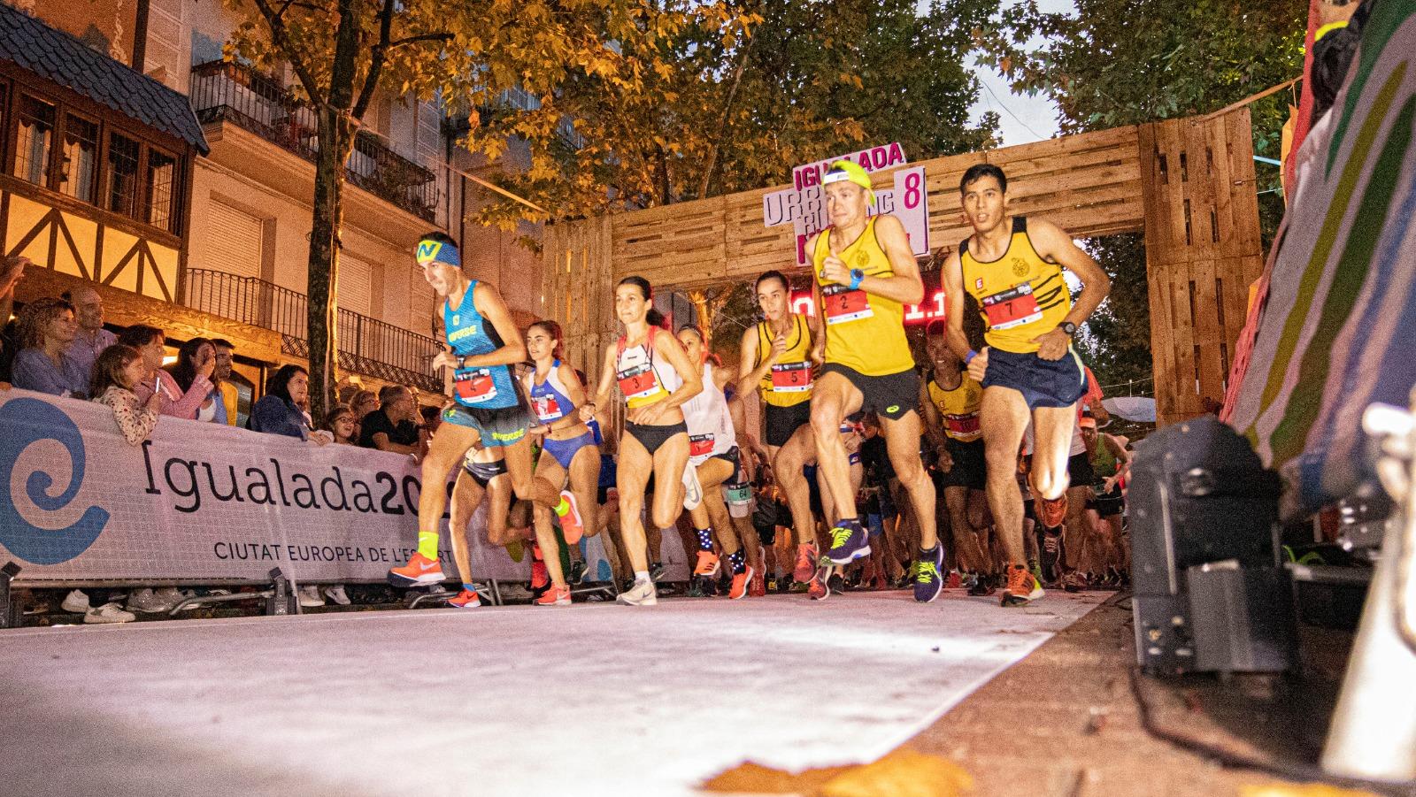 IGUALADA ACULL LA VUITENA EDICIÓ DE L'IGUALADA URBAN RUNNING NIGHT SHOW