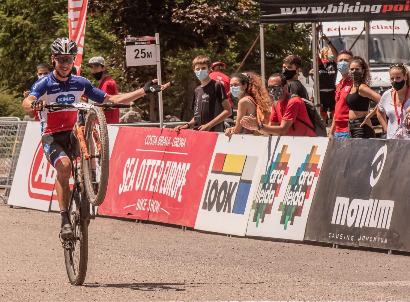 Koretzky y Degn asaltan el liderato en  la Super Cup Massi de La Vall de Boí
