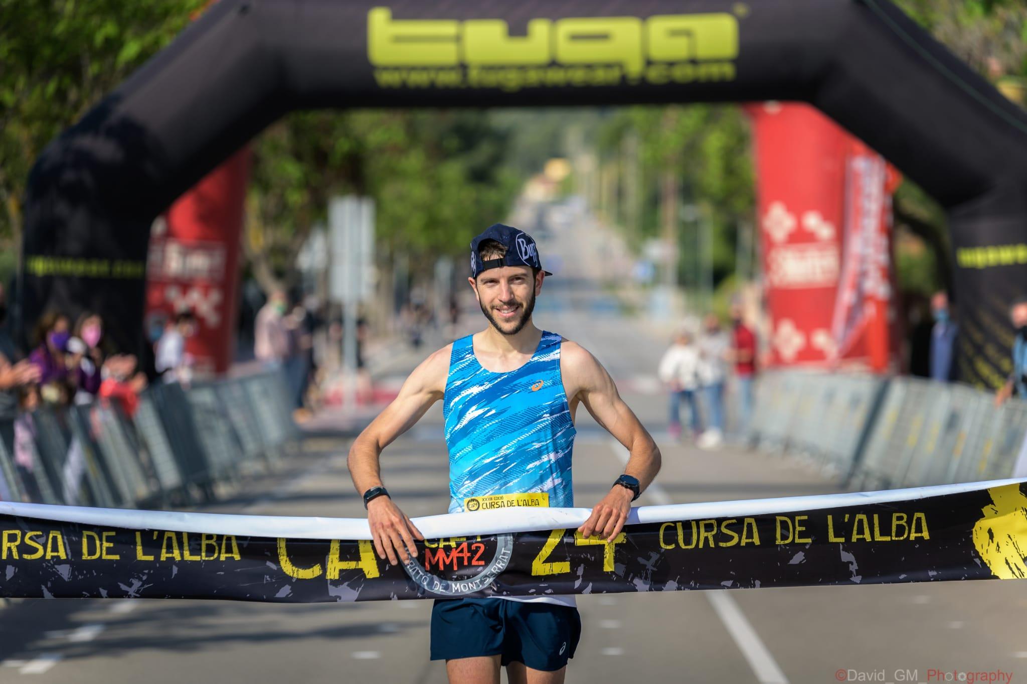 Andreu Simon i Ahlam Elkakdi s'adjudiquen la 33a Cursa de l'Alba, primera prova de les Tuga Run Series 2021